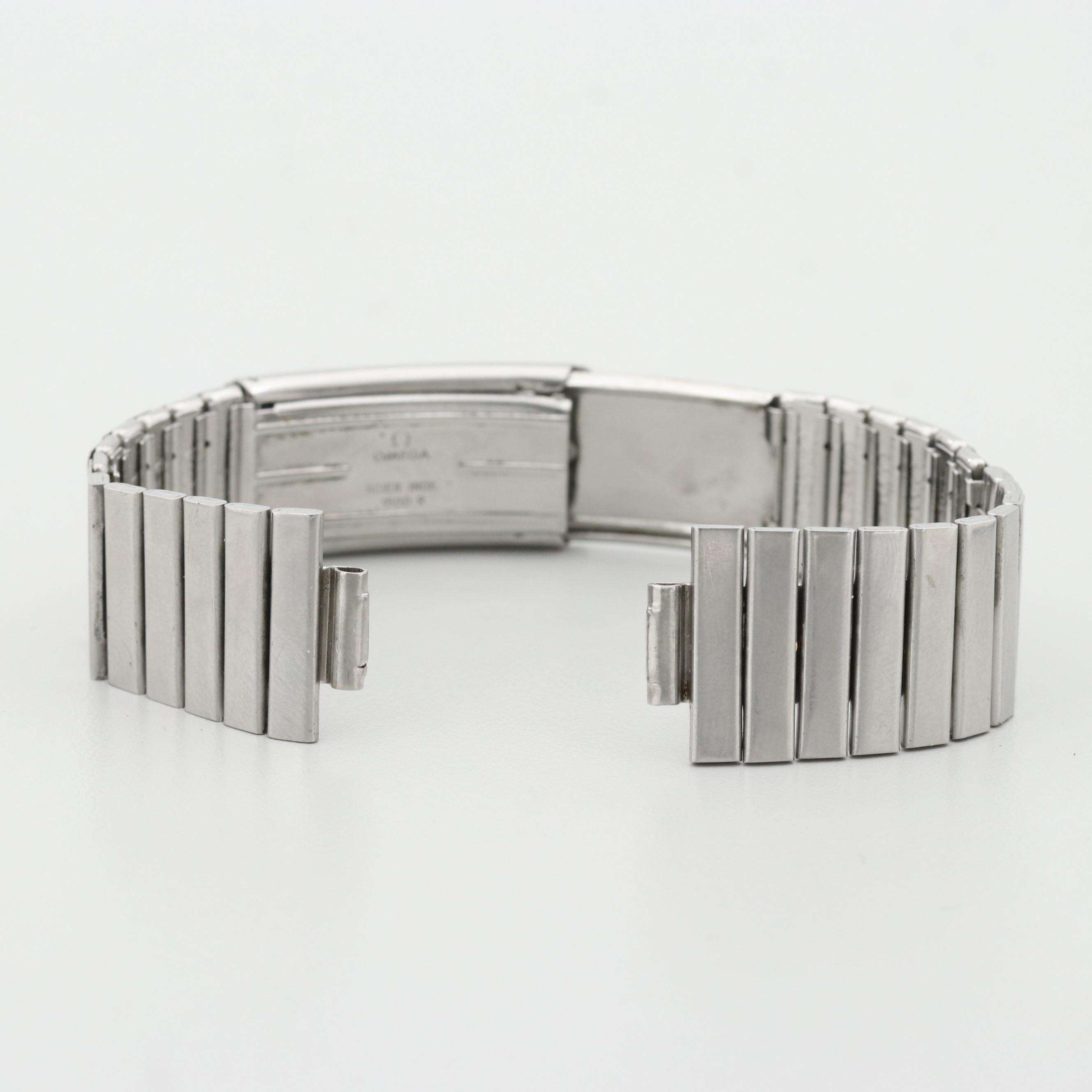 Vintage Omega 1500R/465 18MM Stretch Link Watch Bracelet