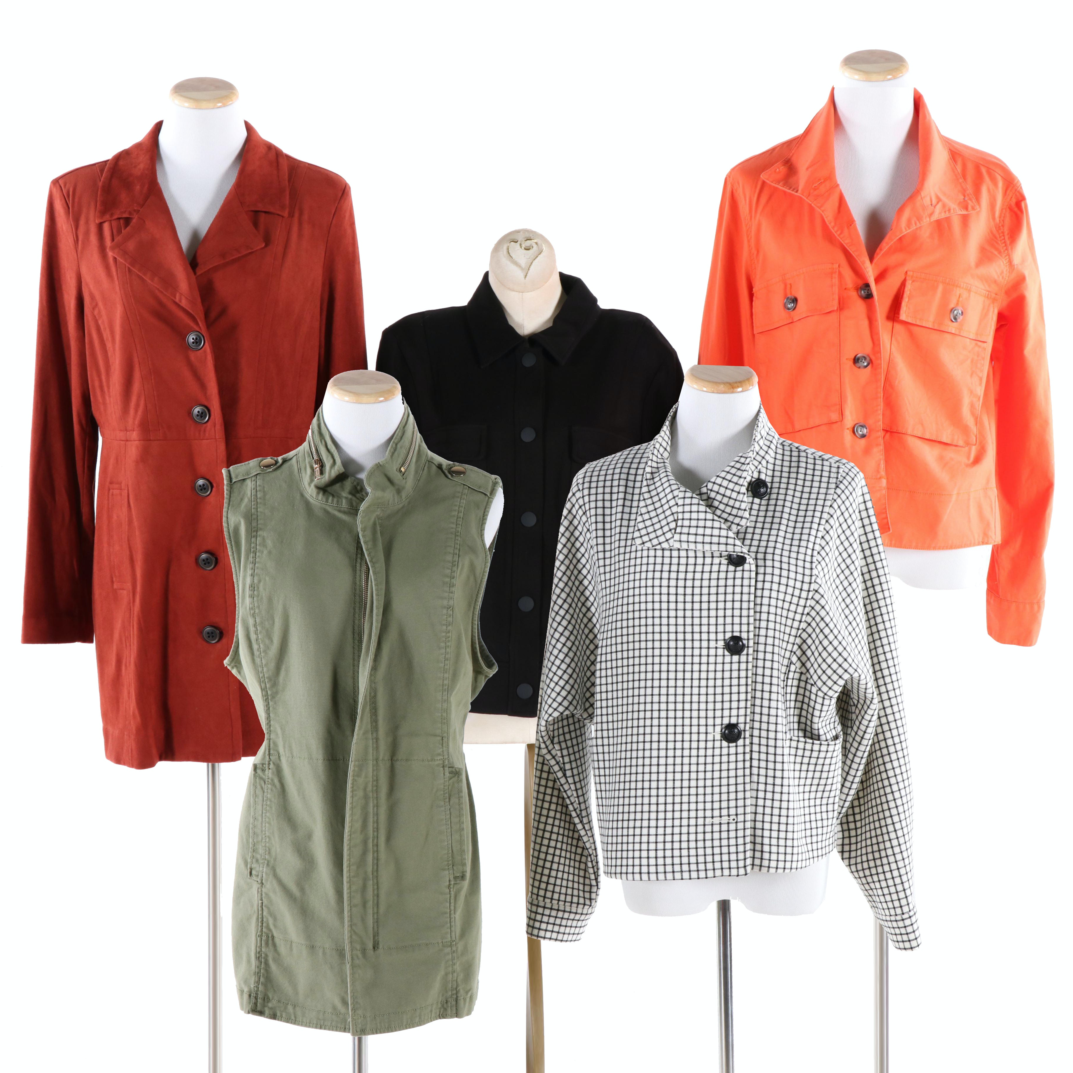 Cabi Jackets, Coat and Vest Grouping
