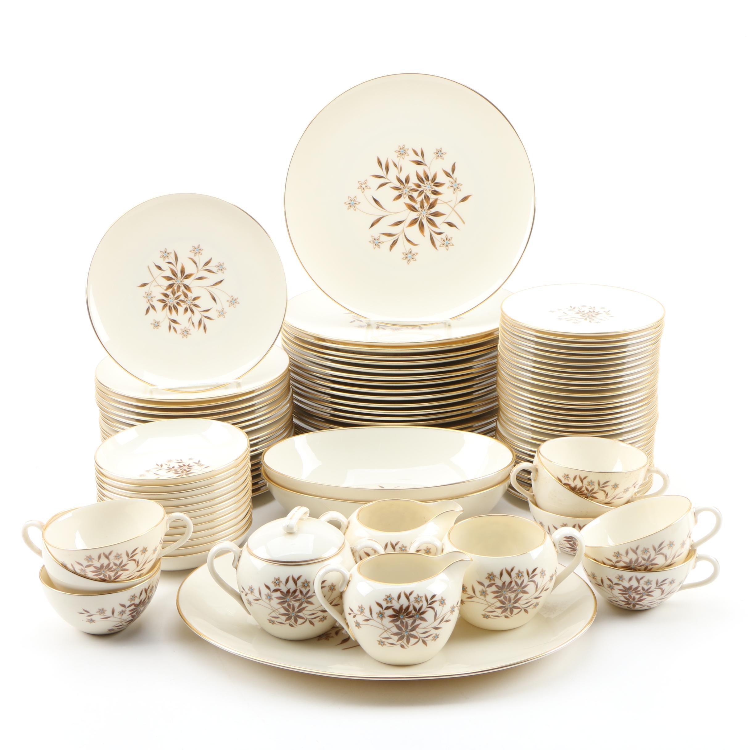"""Lenox """"Starlight"""" Bone China Dinnerware, 1952–1978"""