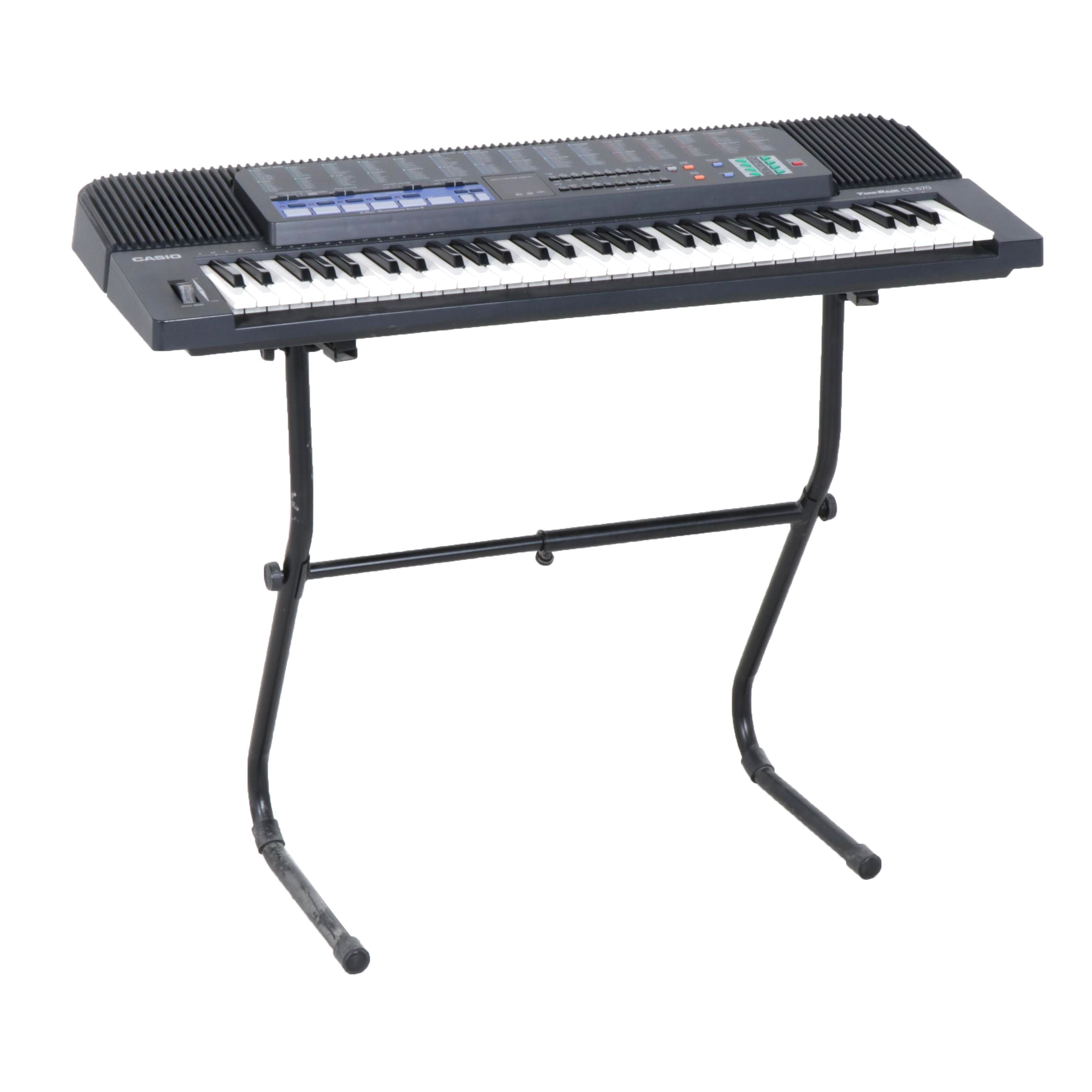 Casio ToneBank CT-670 Electronic Keyboard