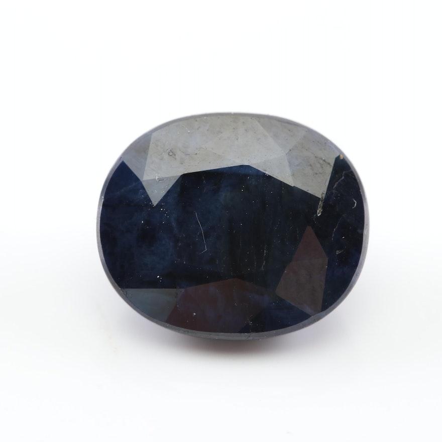 Loose 8.03 CT Sapphire Gemstone