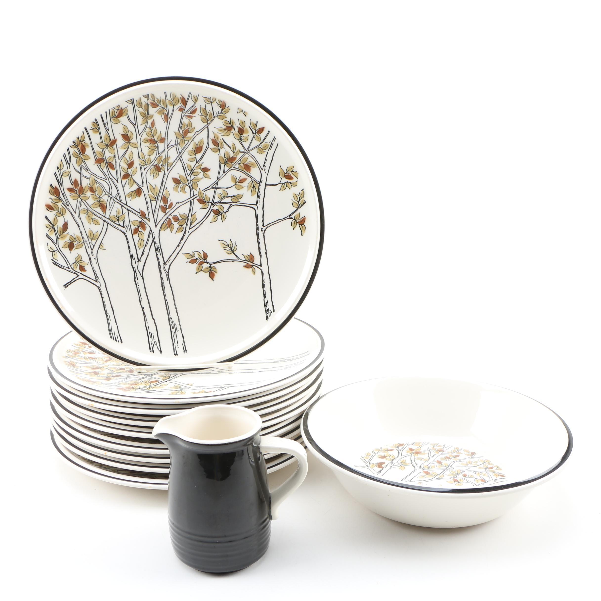 """Mikasa """"Everfresh"""" Ceramic Dinnerware"""