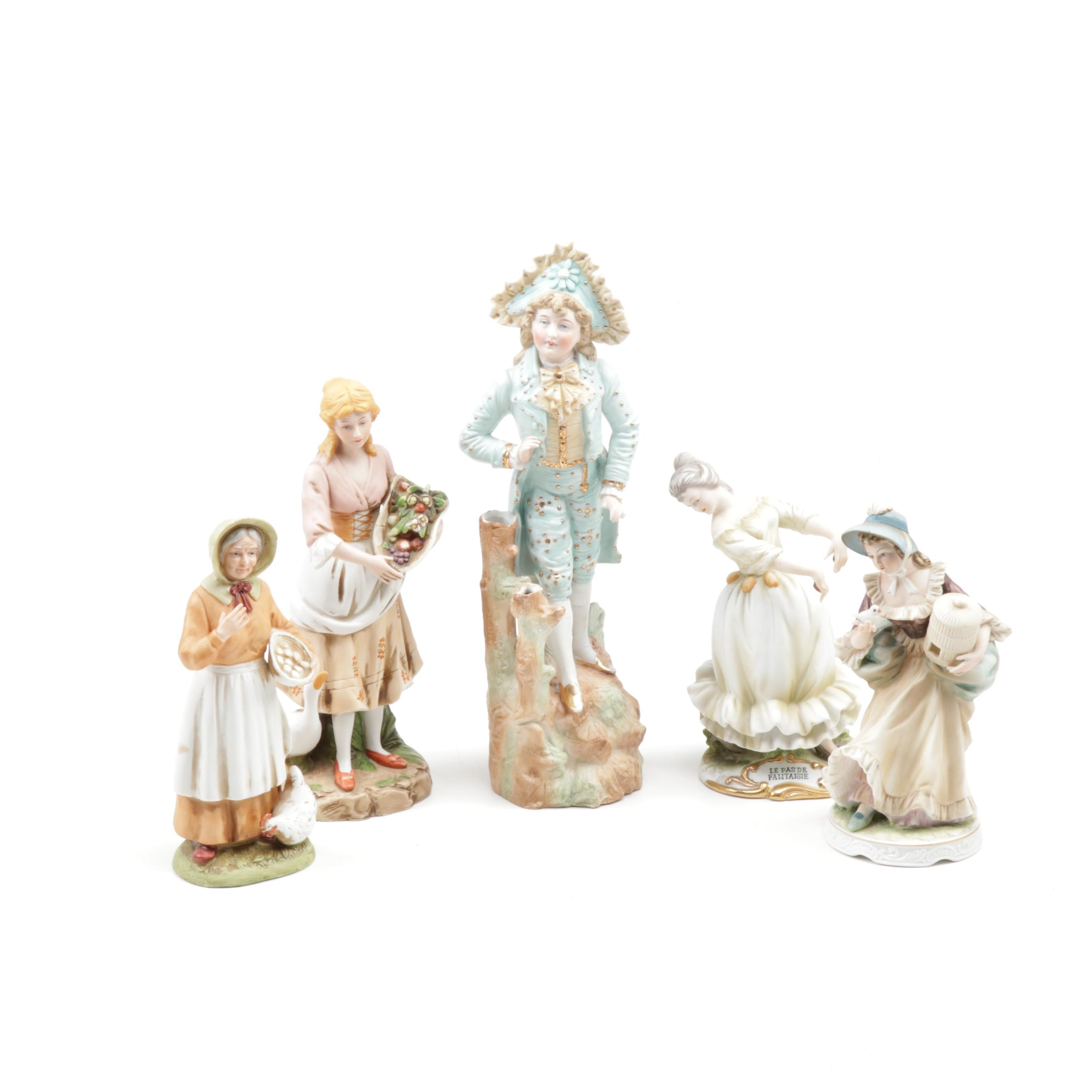 Lefton and More Hand-Painted Porcelain Figurines