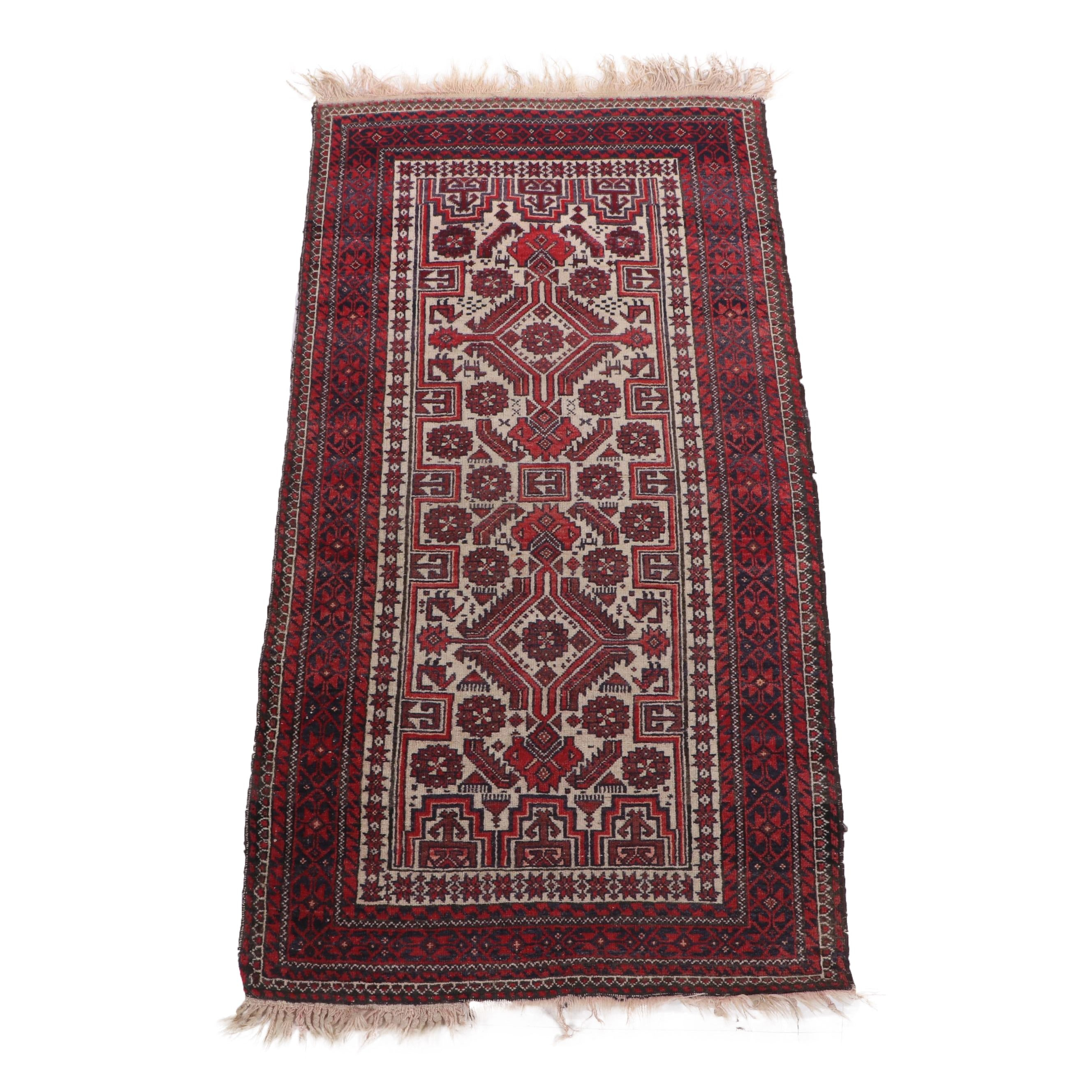 Hand-Knotted Turkish Wool Rug