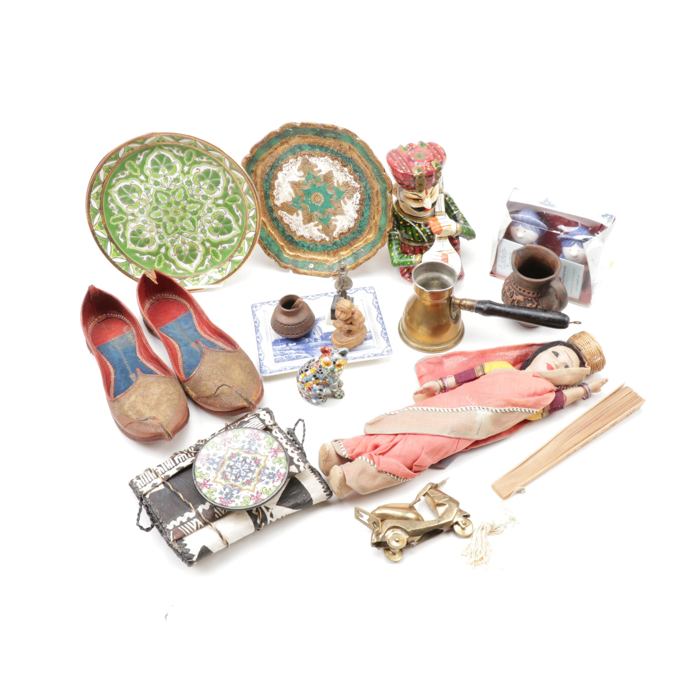 Multi-Cultural Collectibles and Souvenirs, Vintage and Contemporary
