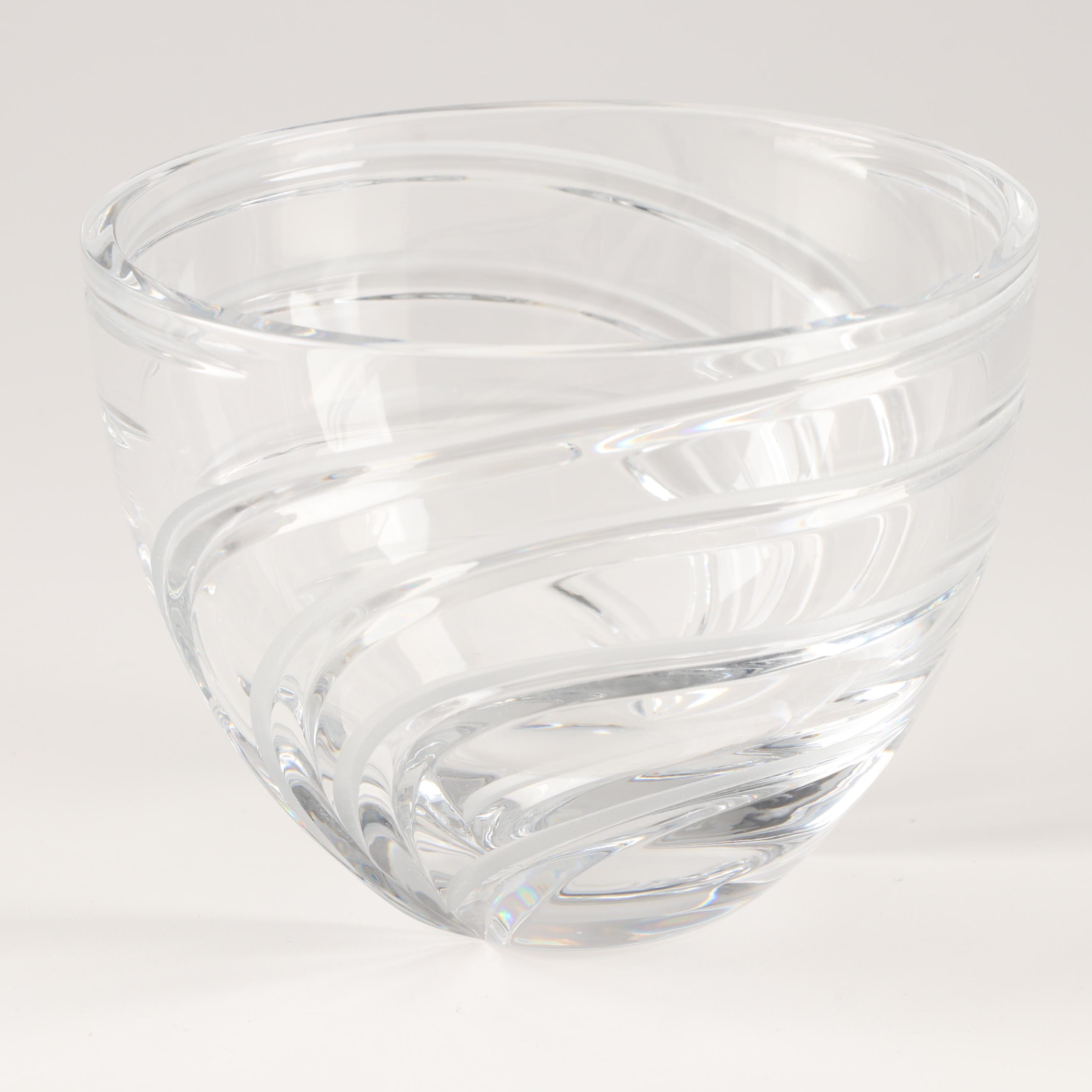 """Marquis by Waterford """"Artesia"""" Round Bowl, Contemporary"""