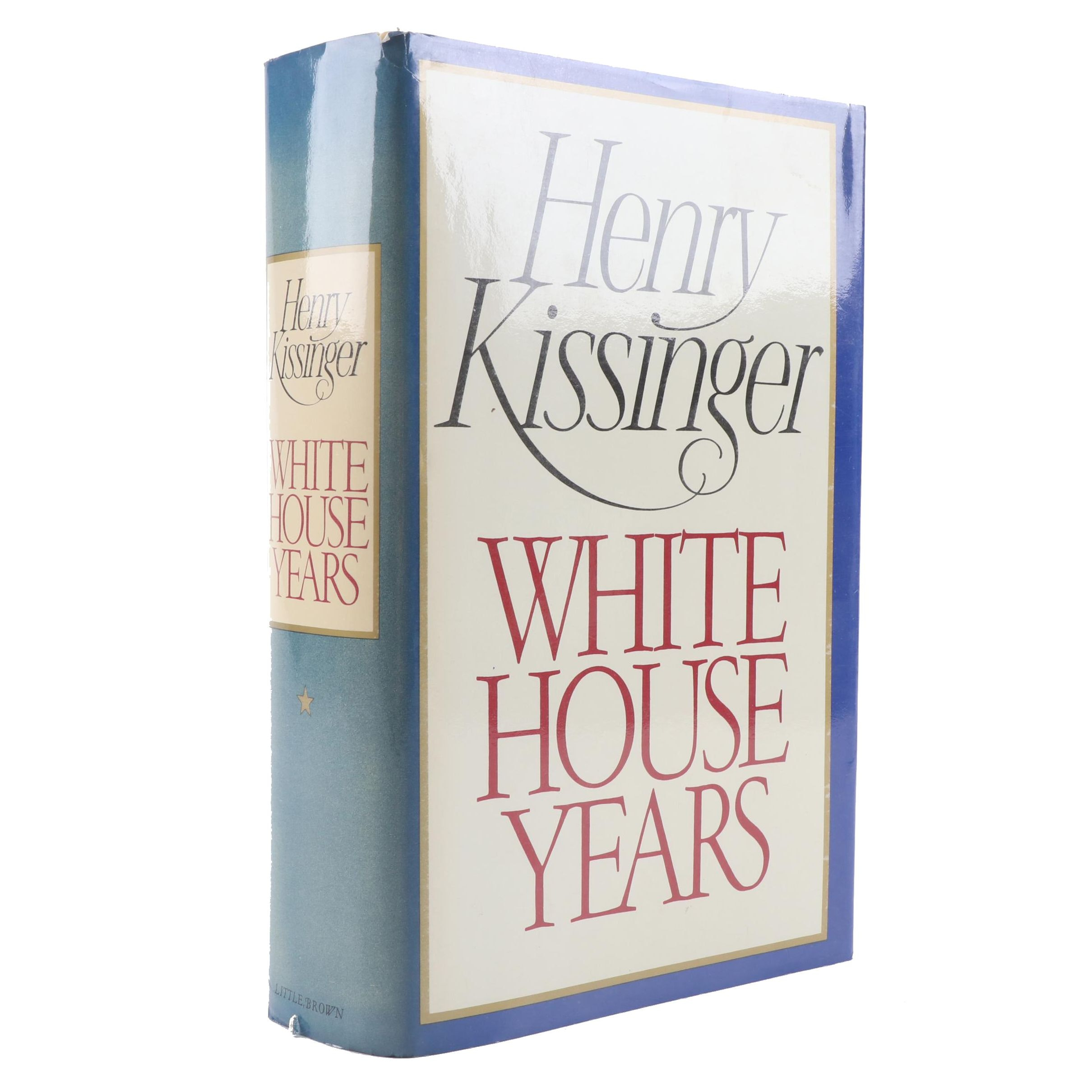 "1979 Signed ""White House Years"" by Henry Kissinger"