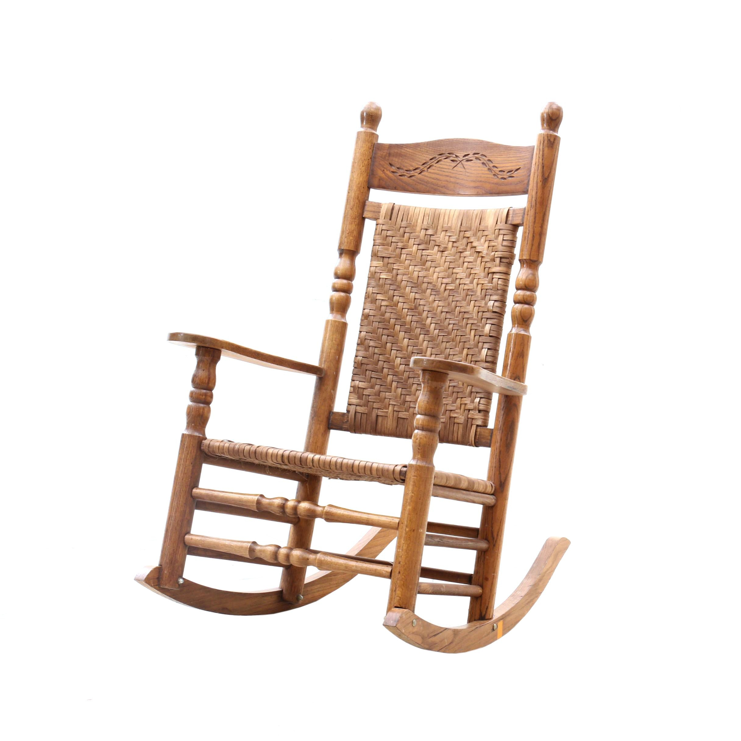 Wicker Rocking Chair