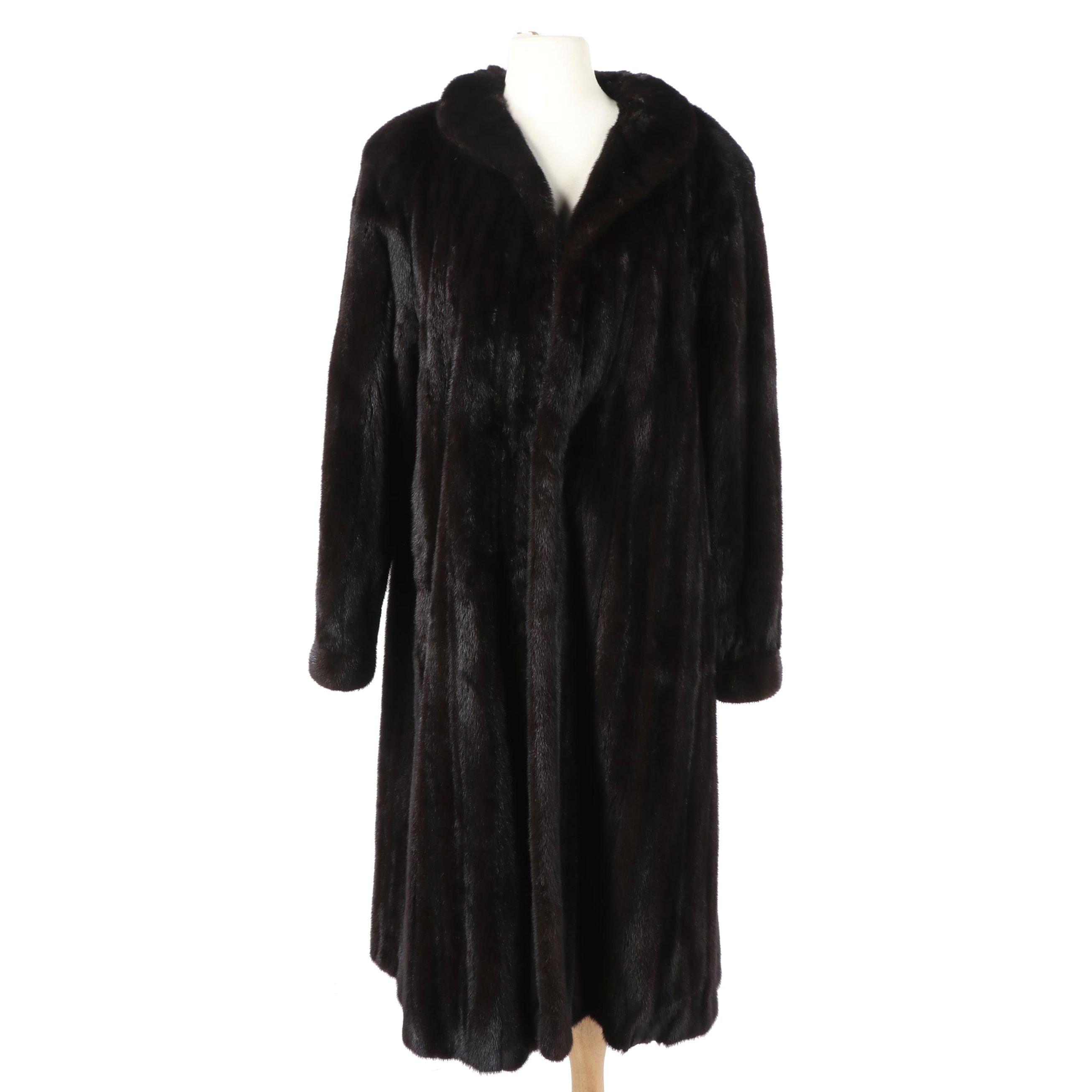 Natural Ranch Mink Fur Coat from Bifano's of Dallas
