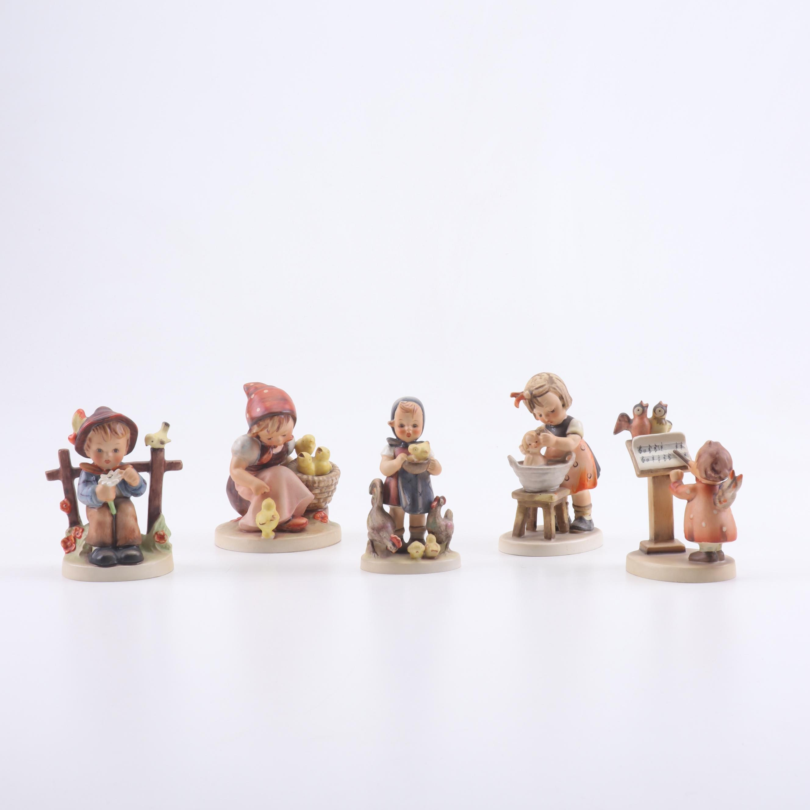Goebel Hummel Porcelain Figurines with Animals