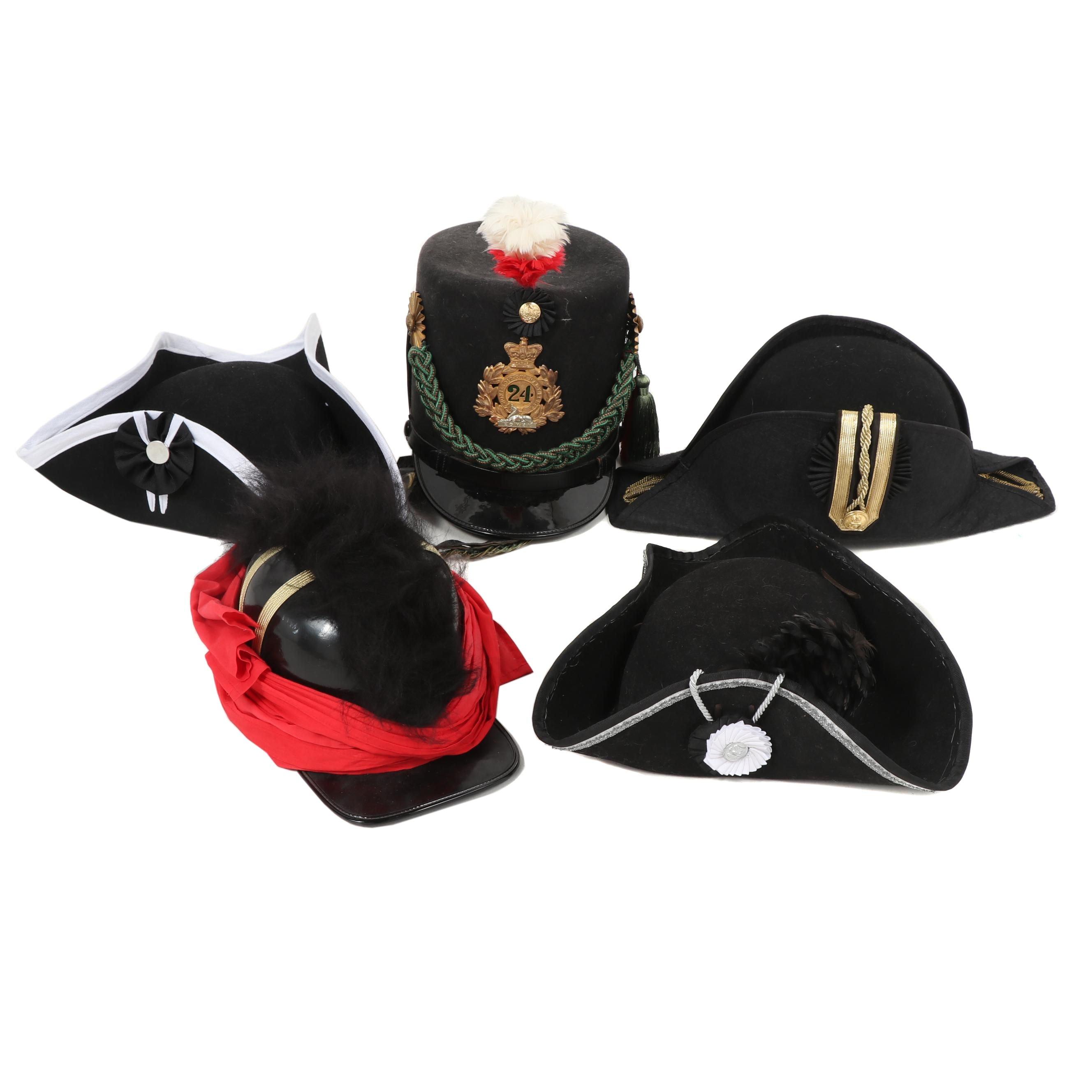 Men's Replica and Costume Military Hats