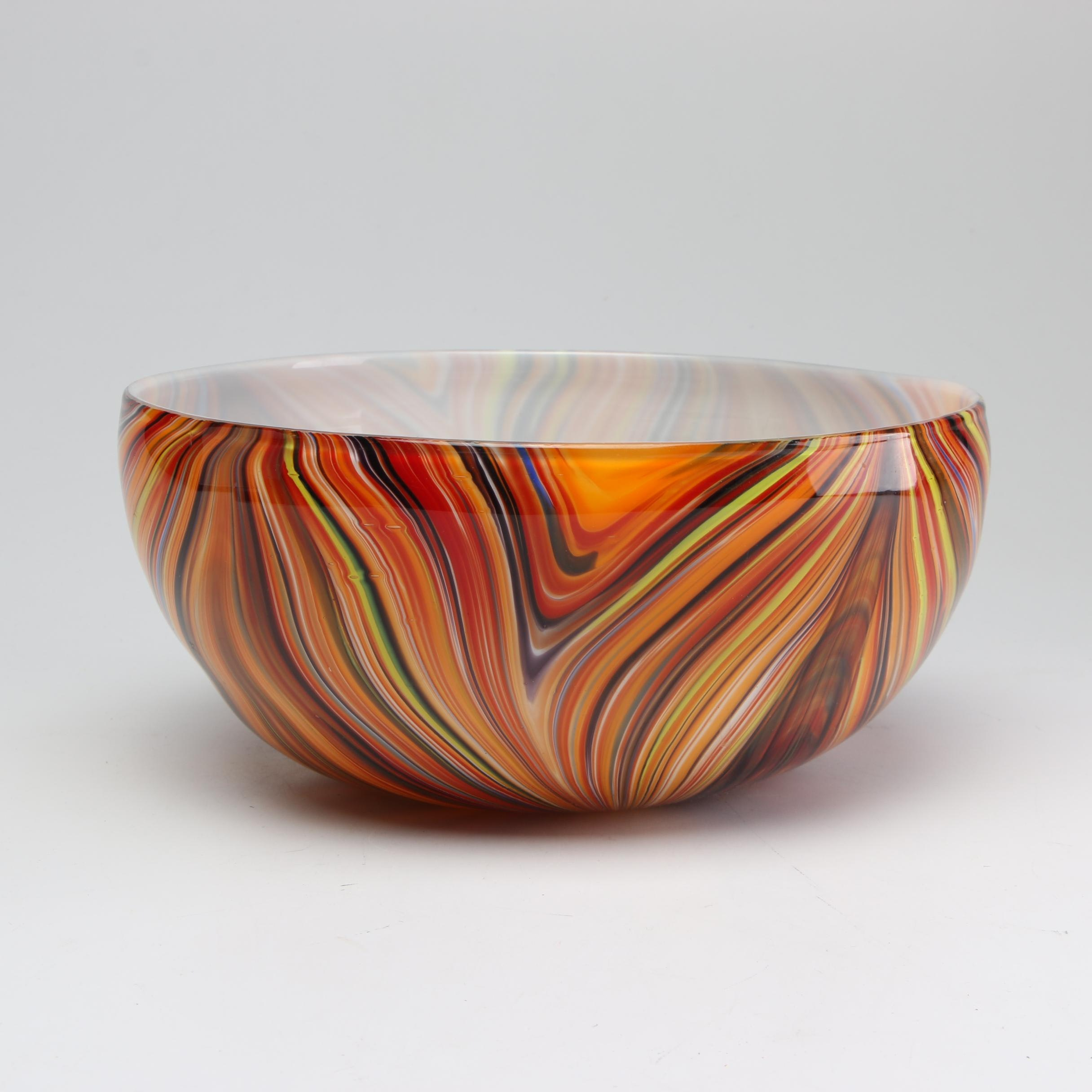 Missoni for Target Blown Glass Bowl, Limited Edition