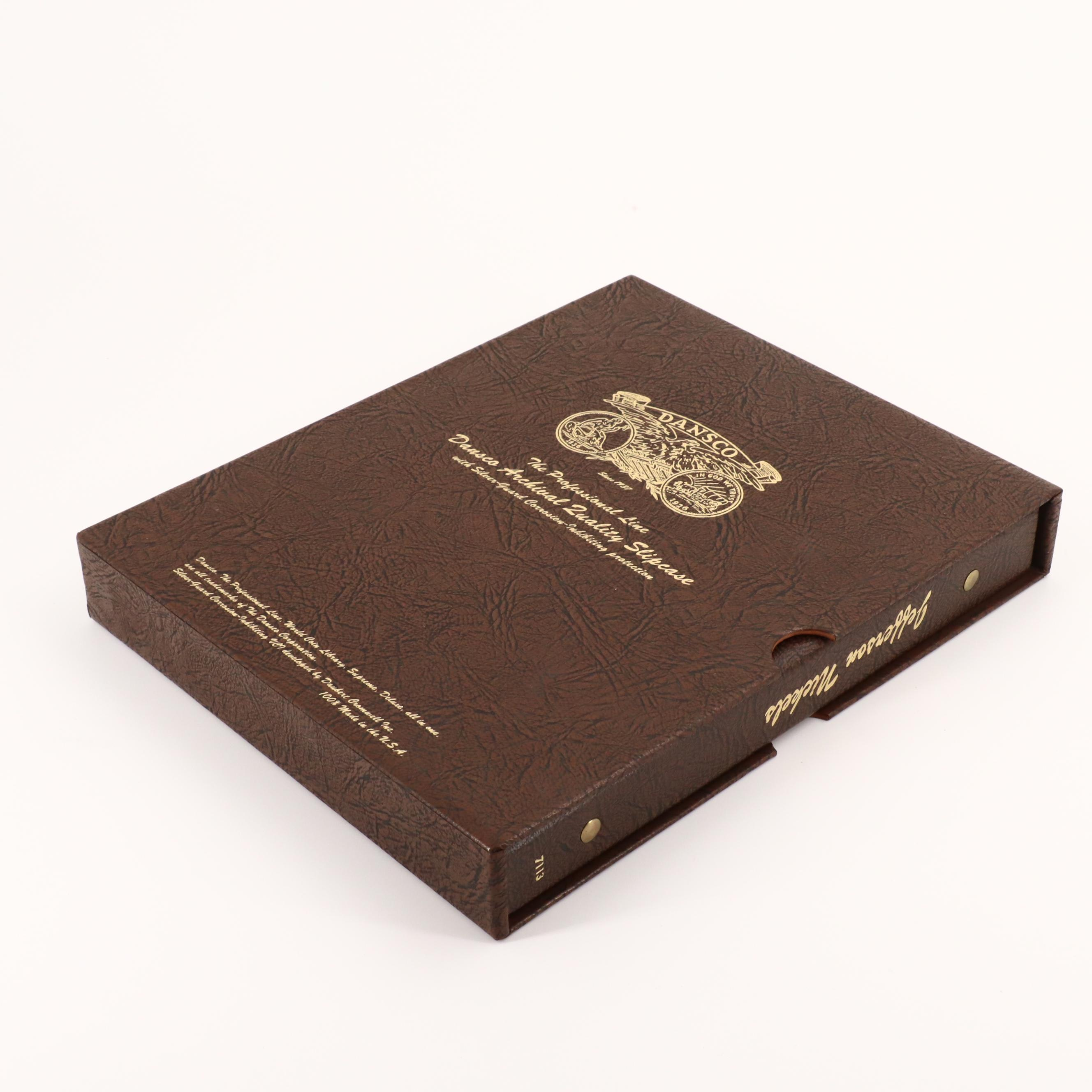 Nearly Complete Danso Album of Jefferson Nickels, 1938 to 2014