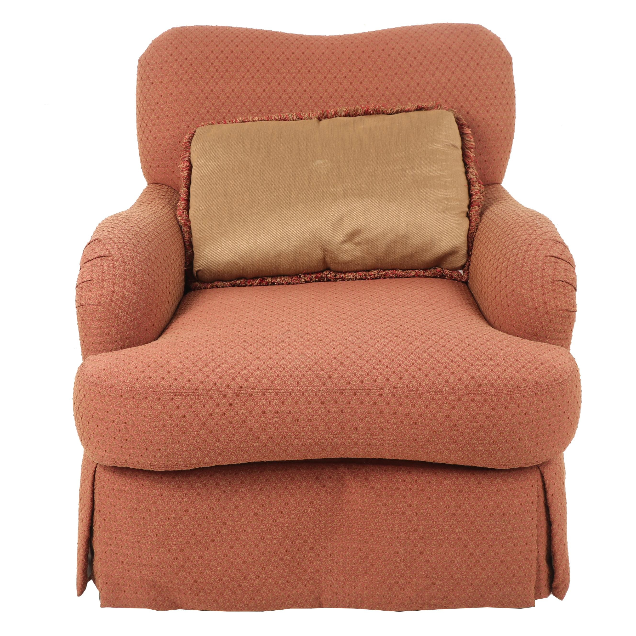 Contemporary Custom Upholstered Armchair