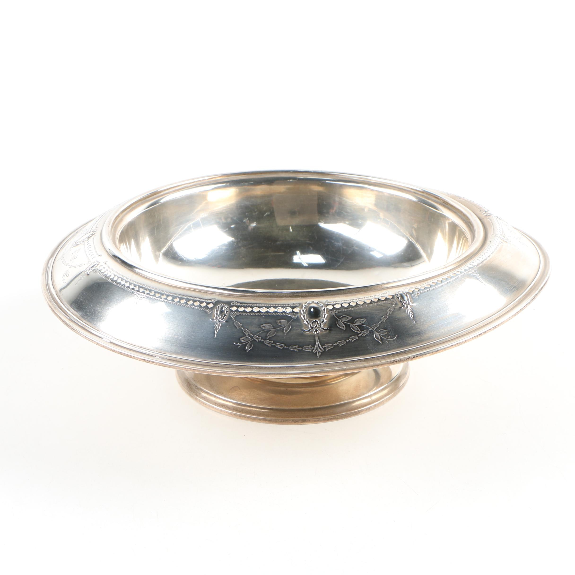 A. M. Soffel Co. Sterling Silver Footed Bowl, Mid-Century