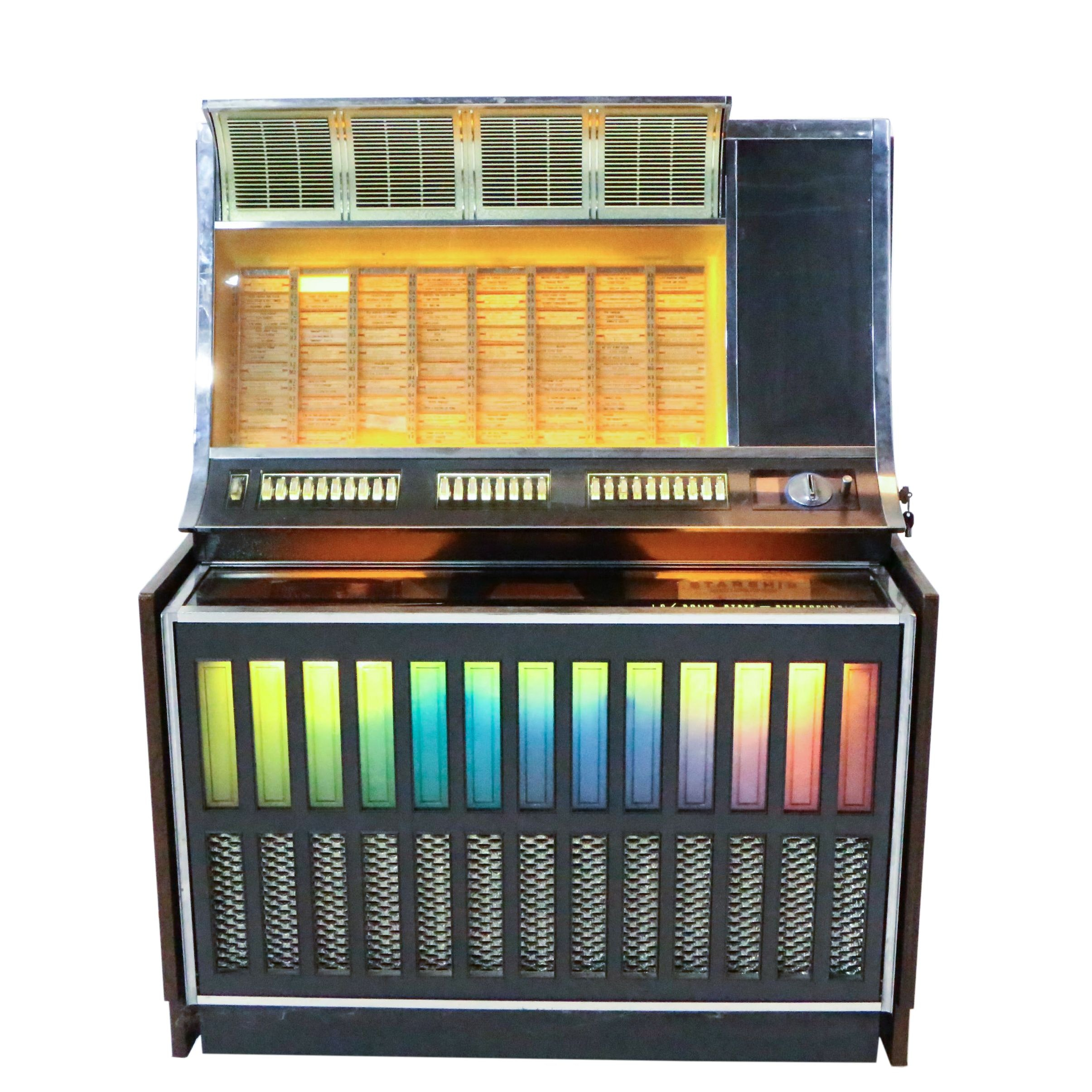 1969 Rock-ola Solid State Stereophonic Jukebox