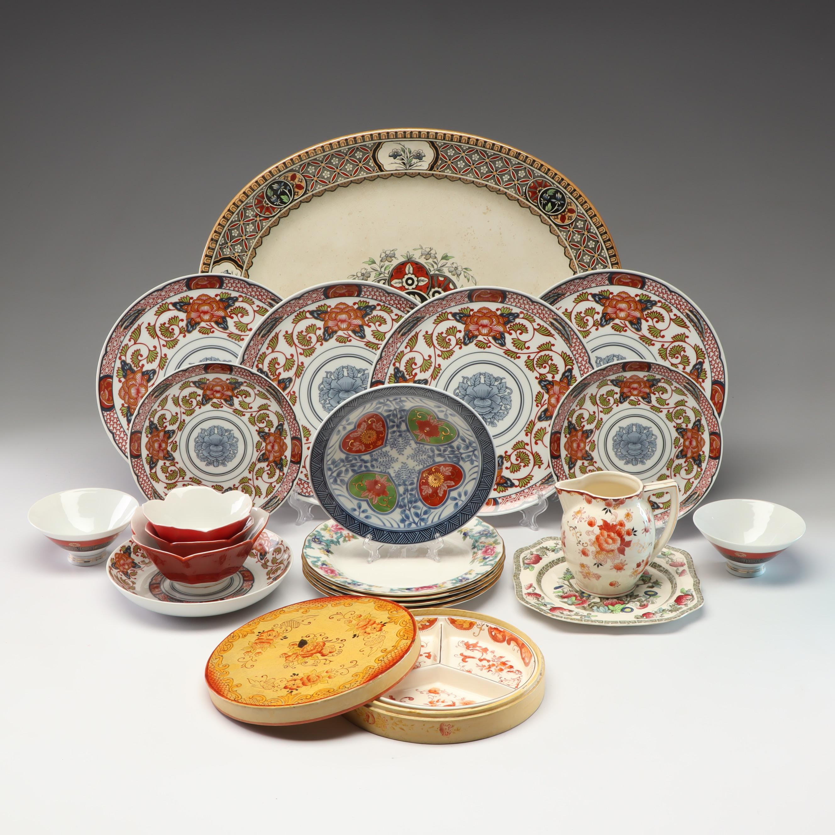 Georges Briard, Royal Doulton, Johnson Bros and Other Ceramic Tableware