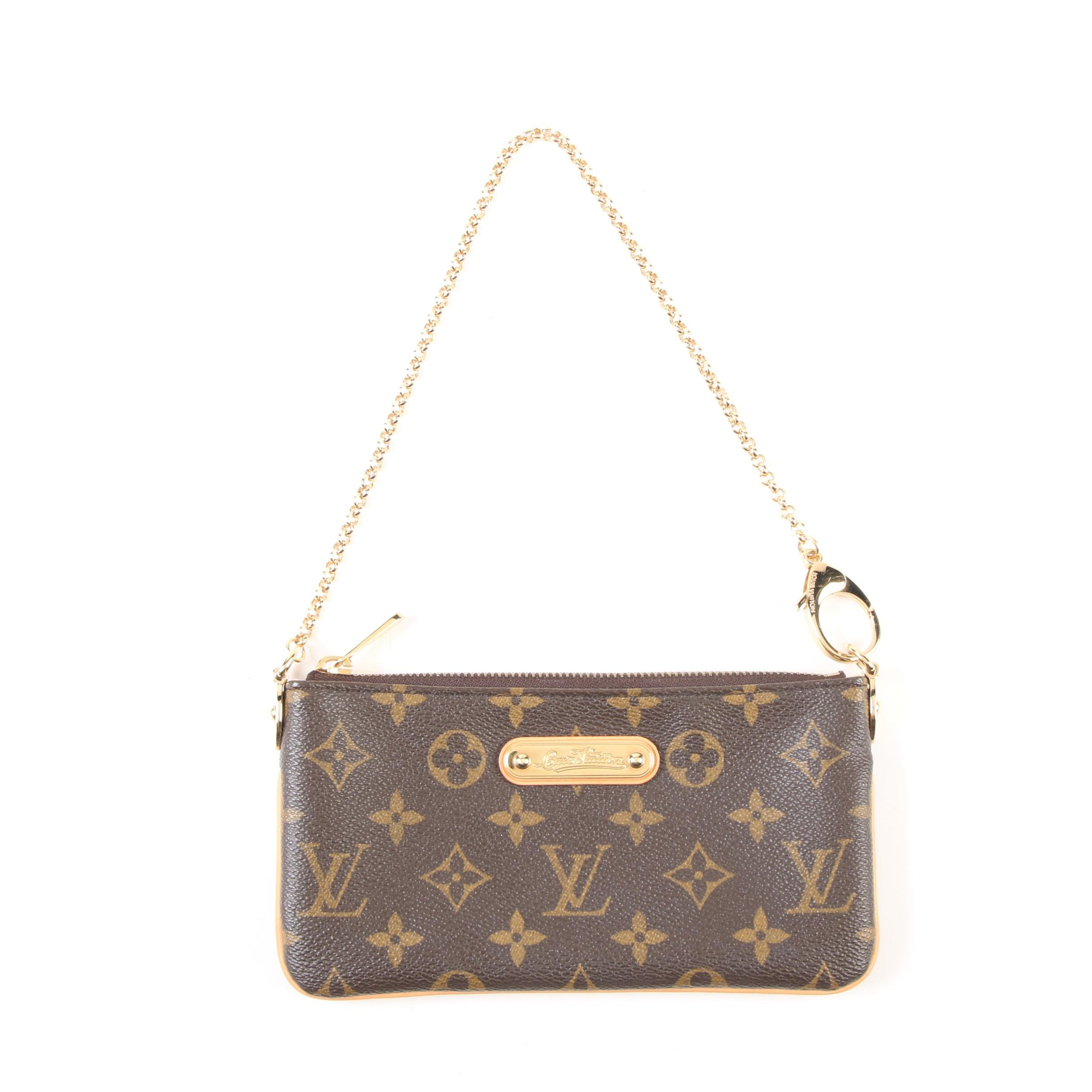 Louis Vuitton Paris Pochette Milla PM Wristlet