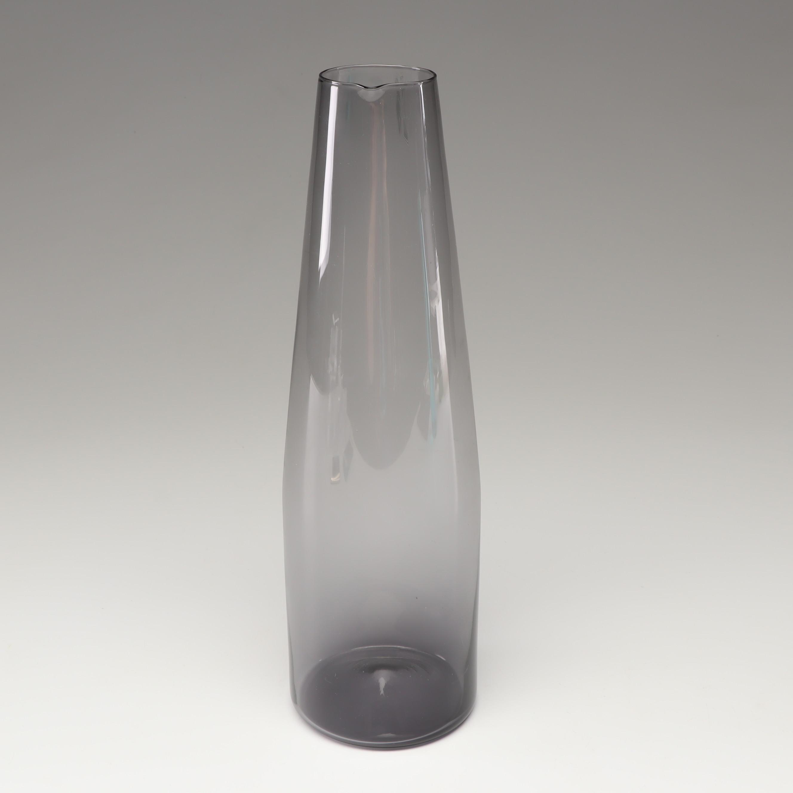 """Timo Sarpaneva """"i-glass"""" Glass Decanter for Iittala, Mid-Century"""