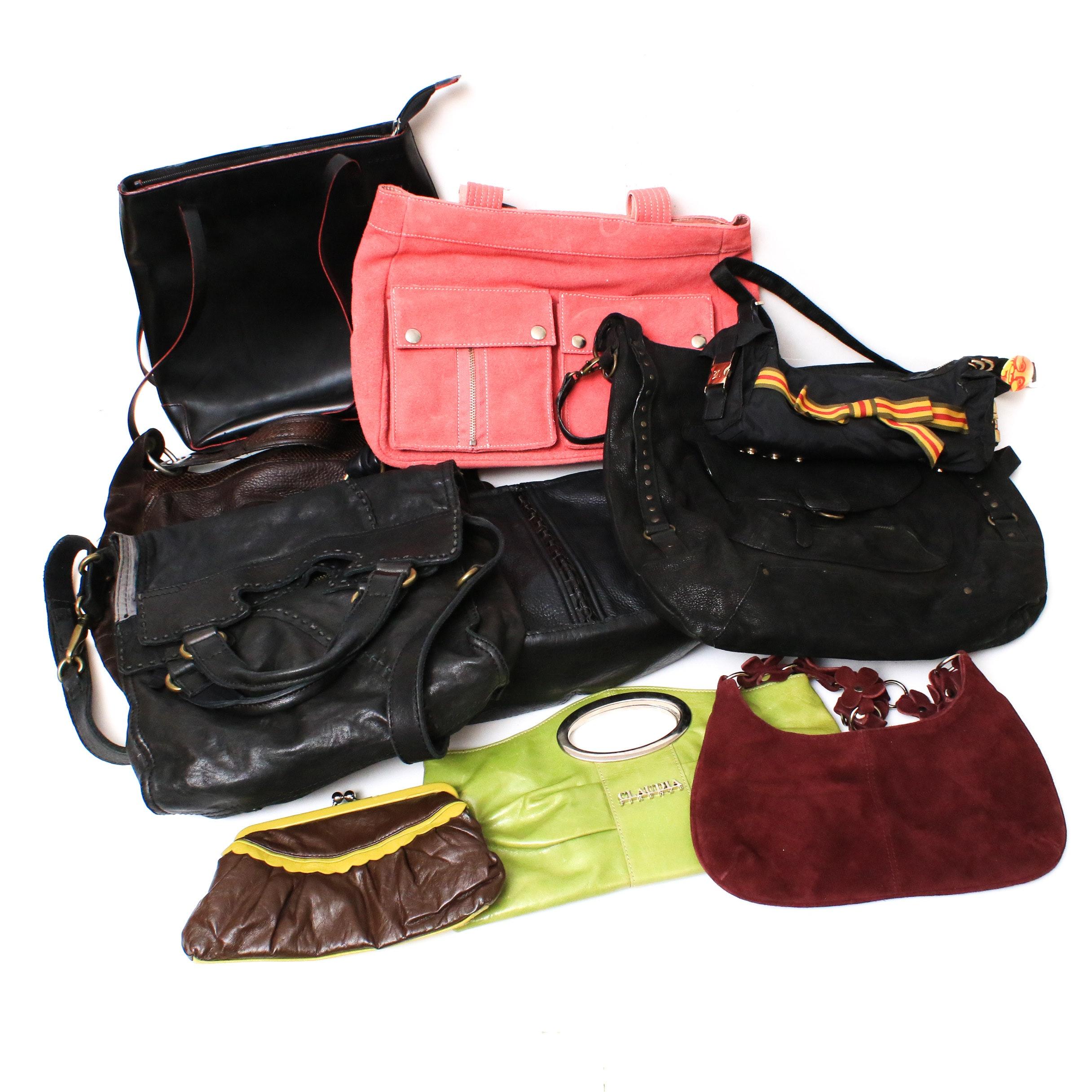 Claudia Firenze, Le Sportsac, Abaco, Banana Republic, and More Handbags