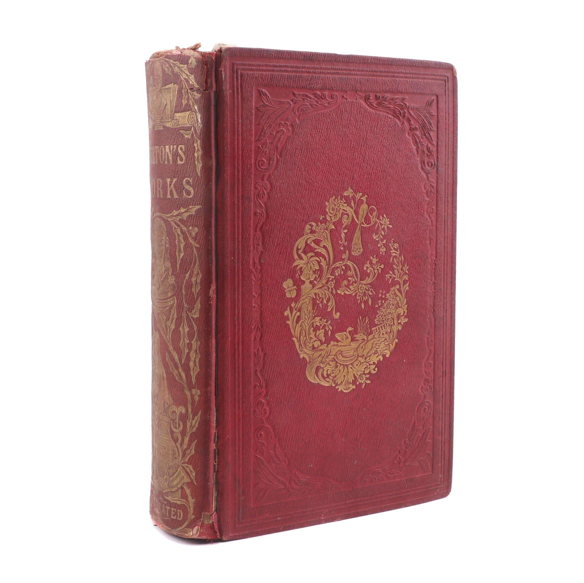 "1856 ""The Poetical Works of John Milton"" Volume One"