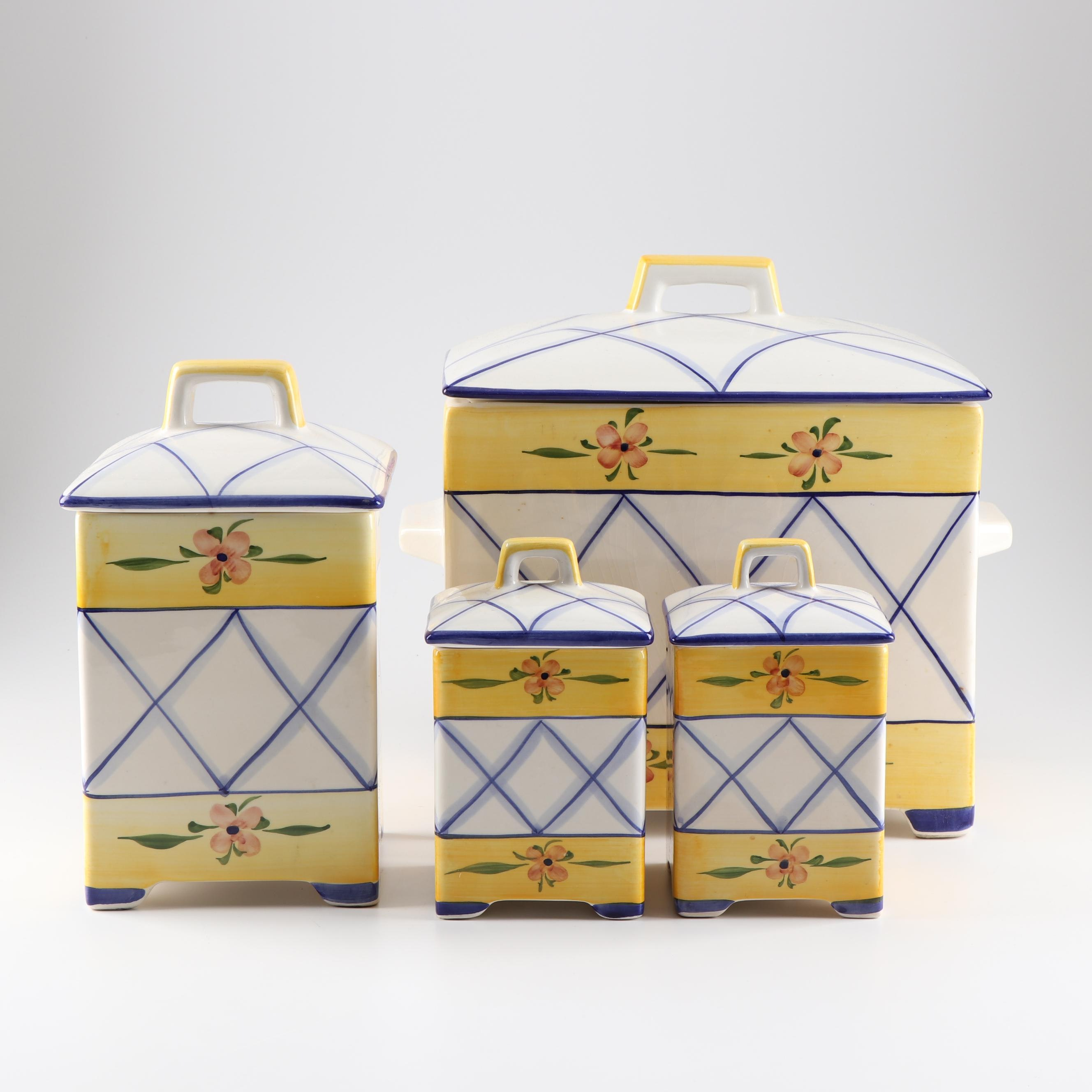 Jay Willfred Porcelain Storage Canisters by Sadek
