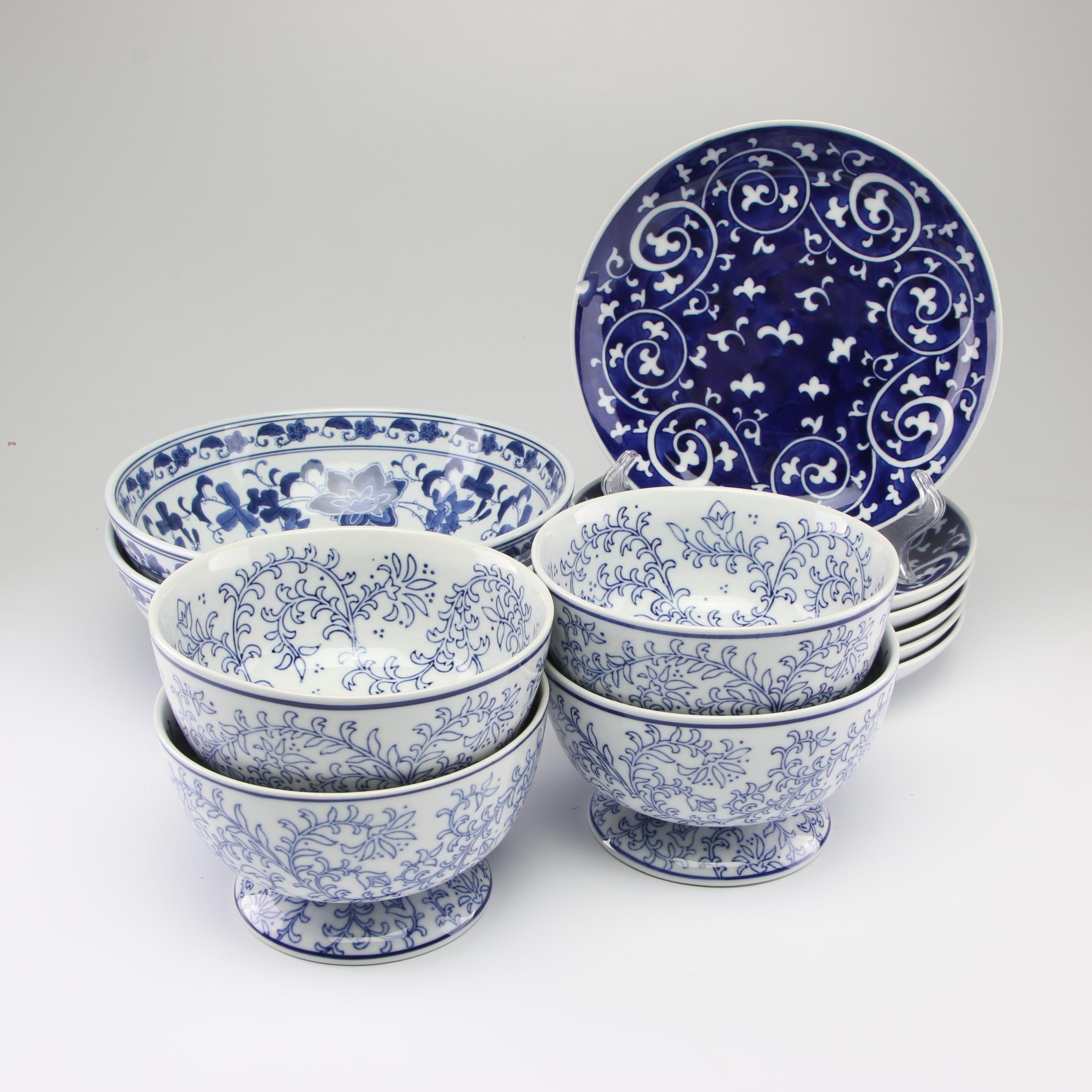 "Pottery Barn ""Indigo"" Dinnerware"