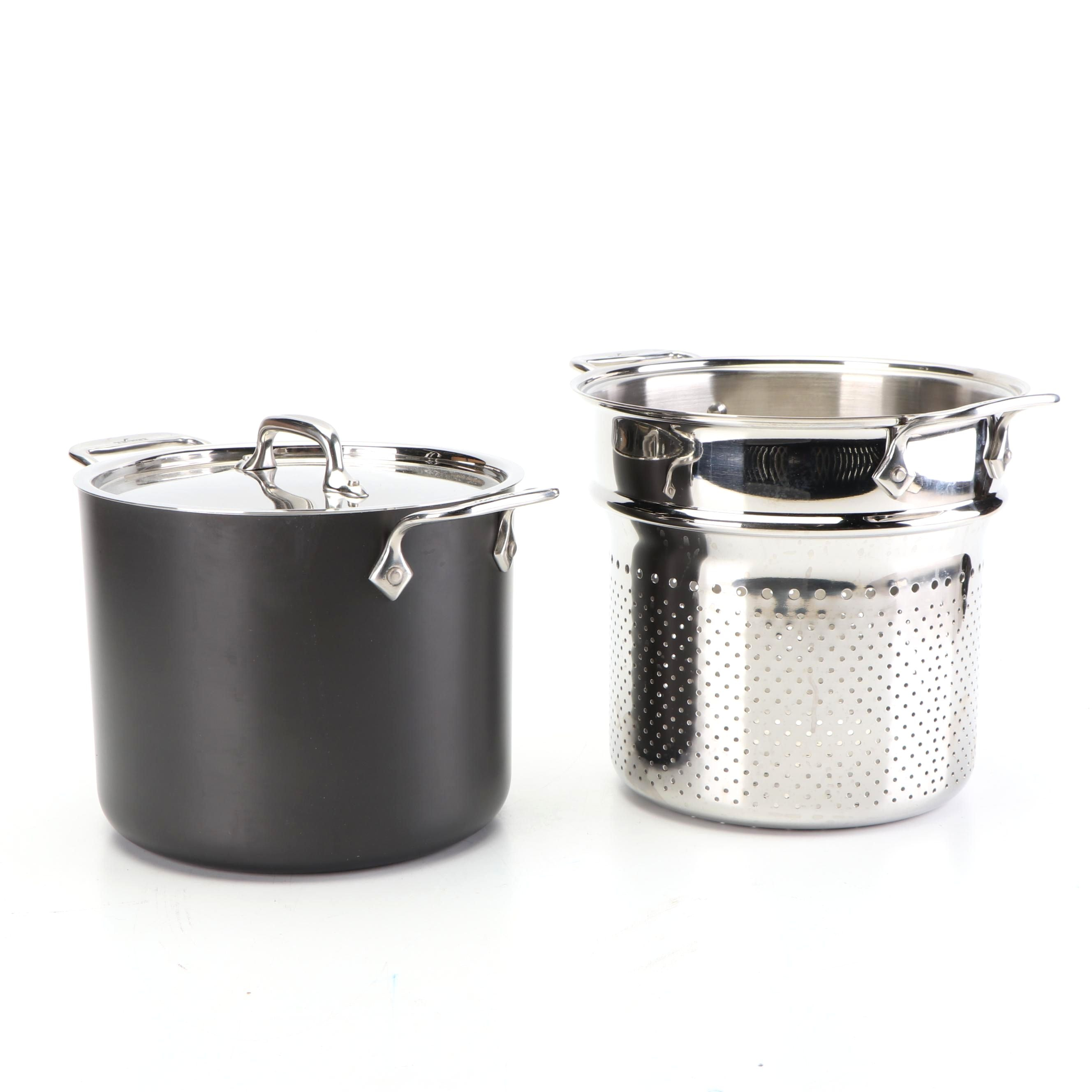 All-Clad Ltd Stock Pot with Strainer Basket