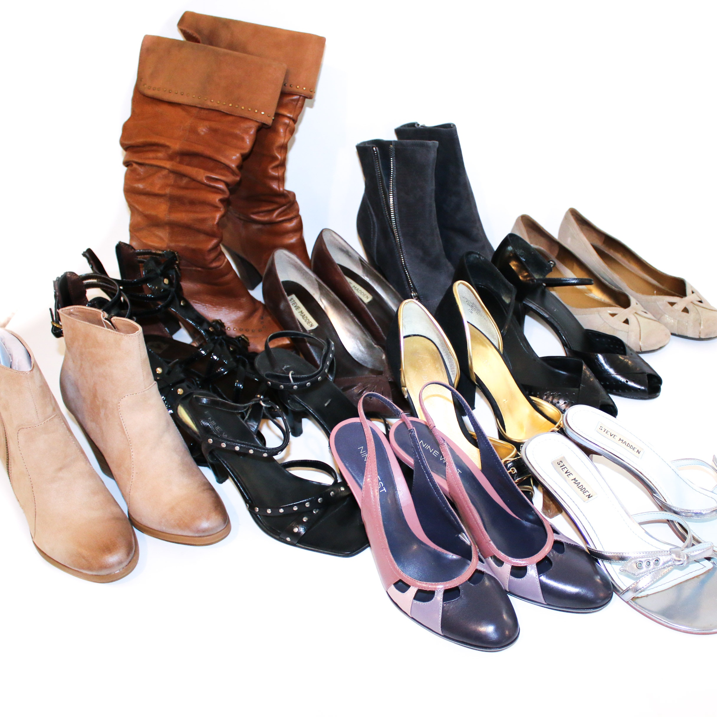 Kenneth Cole Reaction, Nine West, Steve Madden and Other Shoes