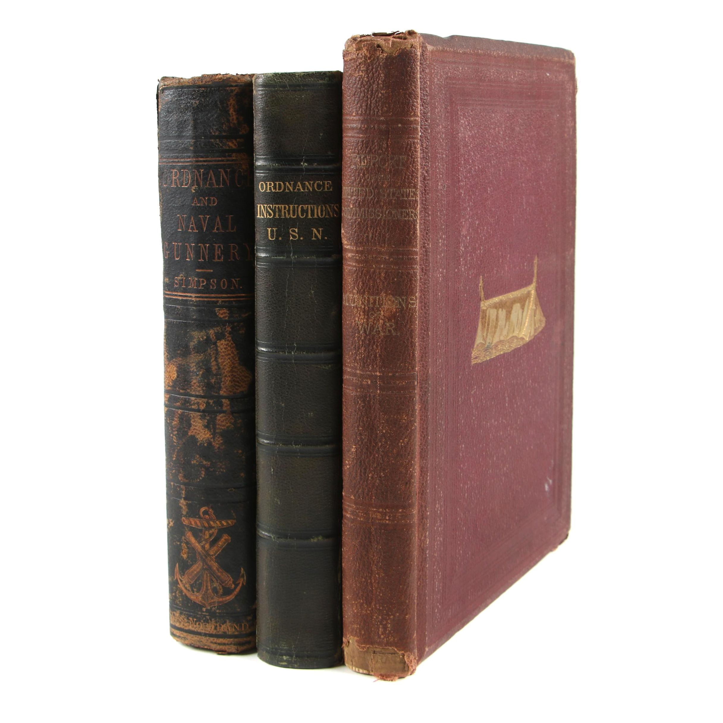 Antiquarian Military Munitions and Ordnance Books