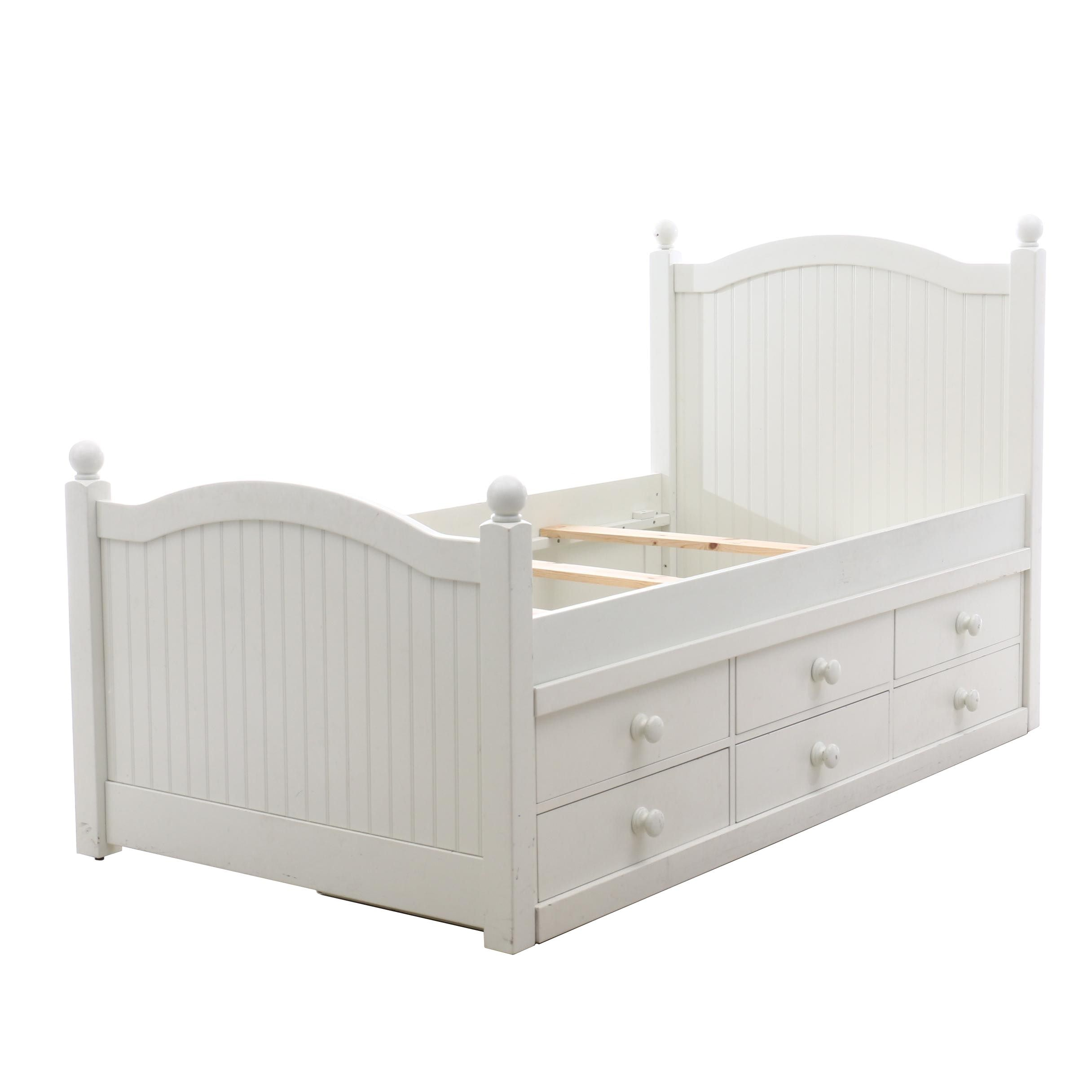 Pottery Barn Kids Twin Bed with Storage, Contemporary