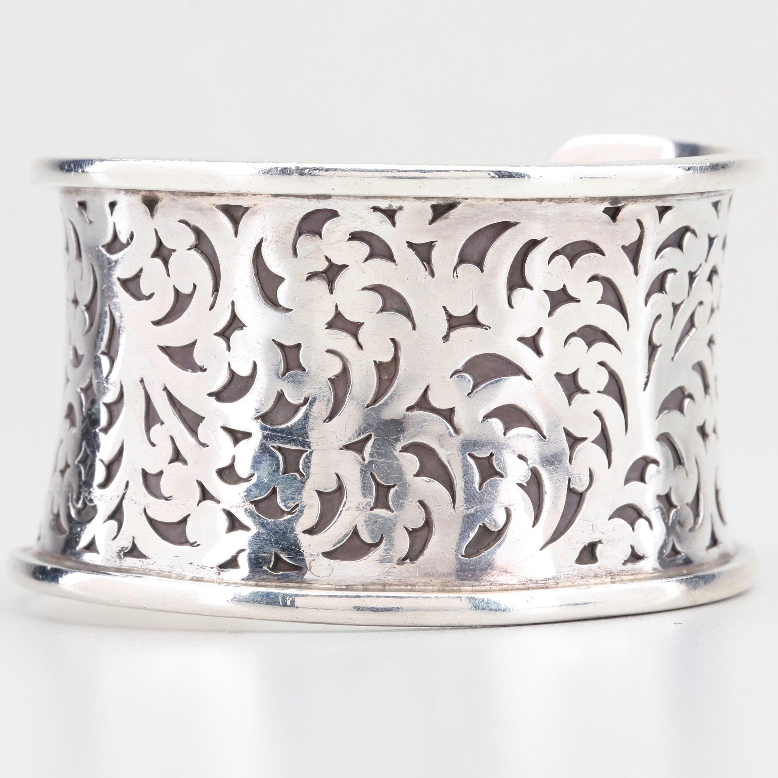 Lois Hill Sterling Silver Cuff Bracelet