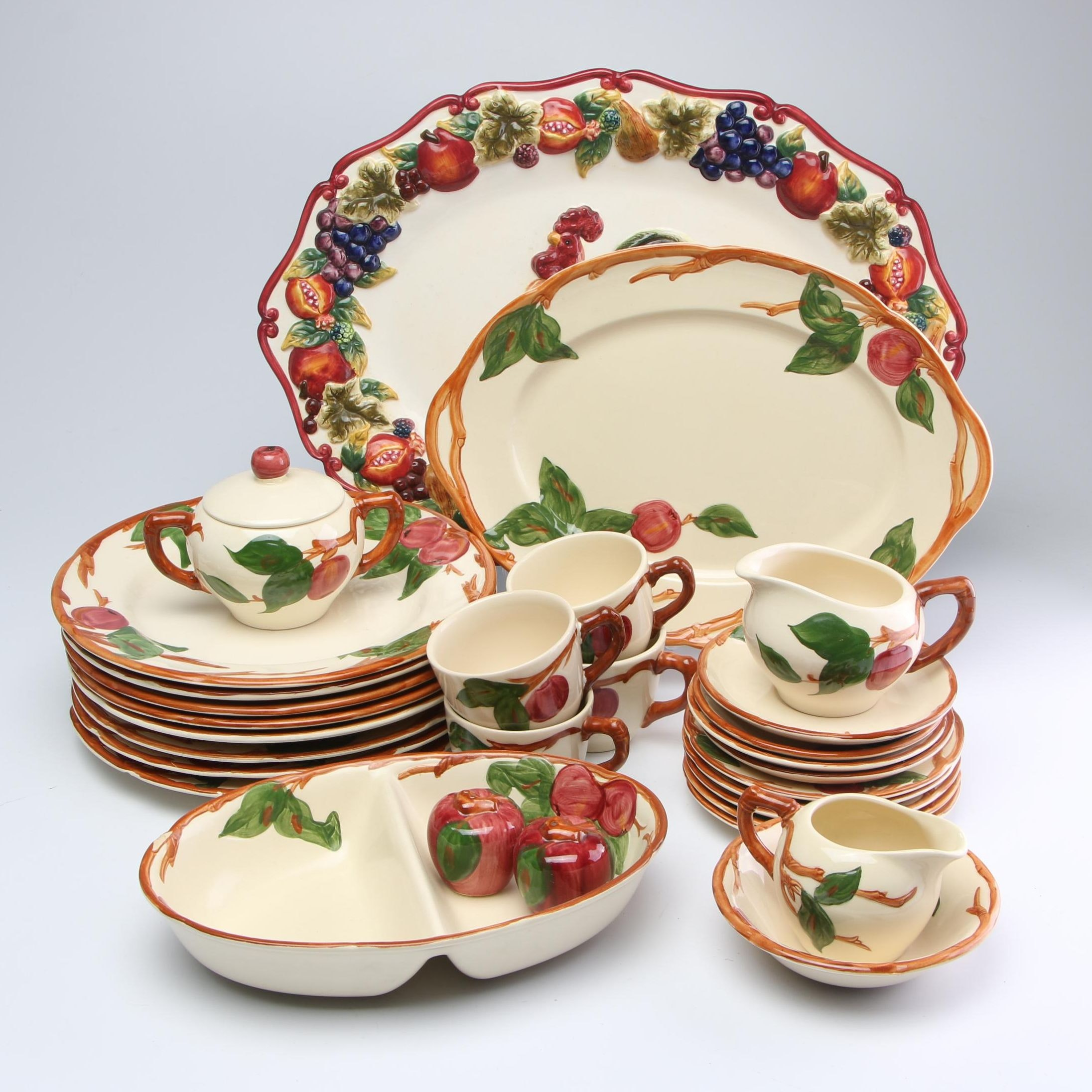 Franciscan Earthenware and Other Service and Dinnerware, Late 20th Century