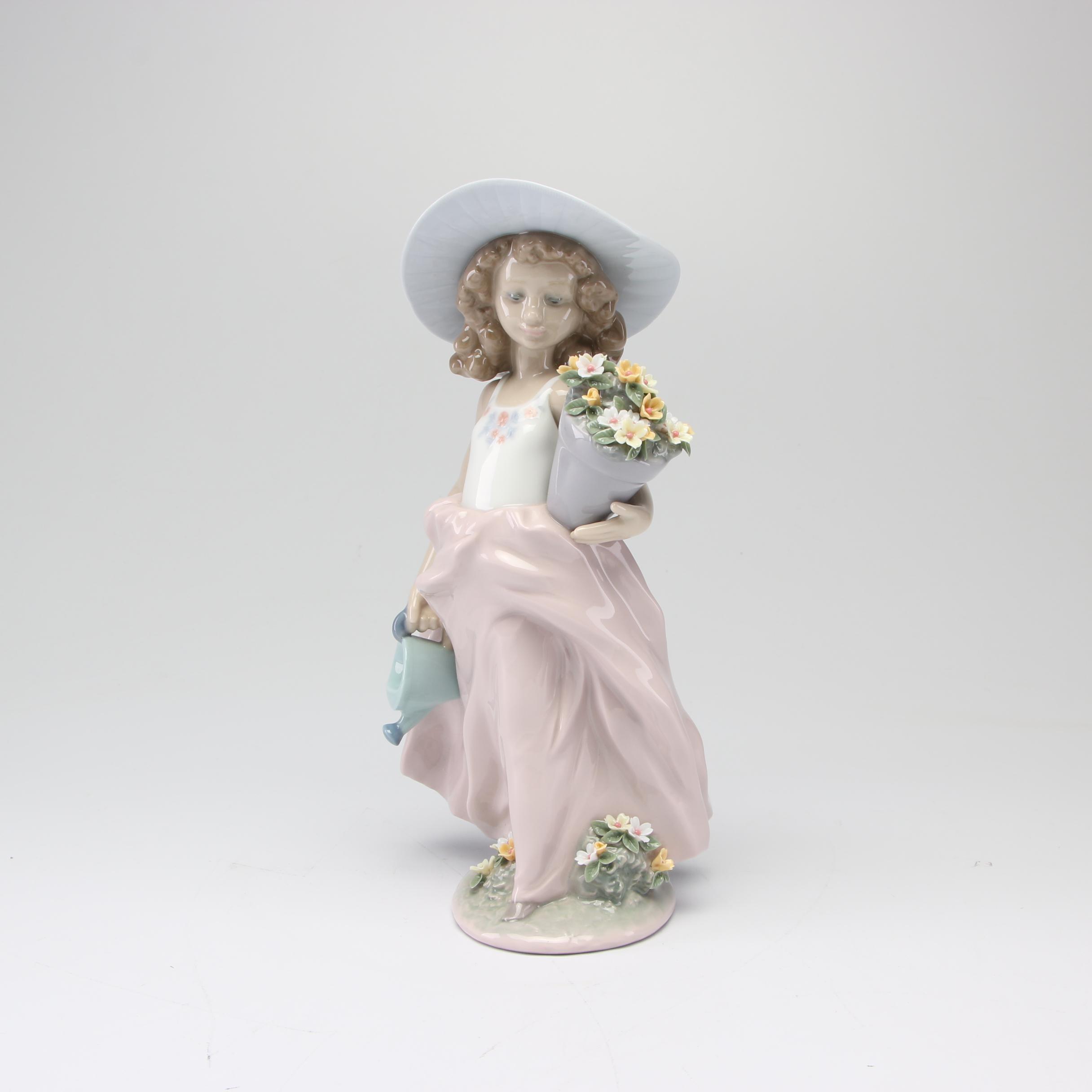 "Lladró Collectors Society ""A Wish Come True"" Porcelain Figurine"