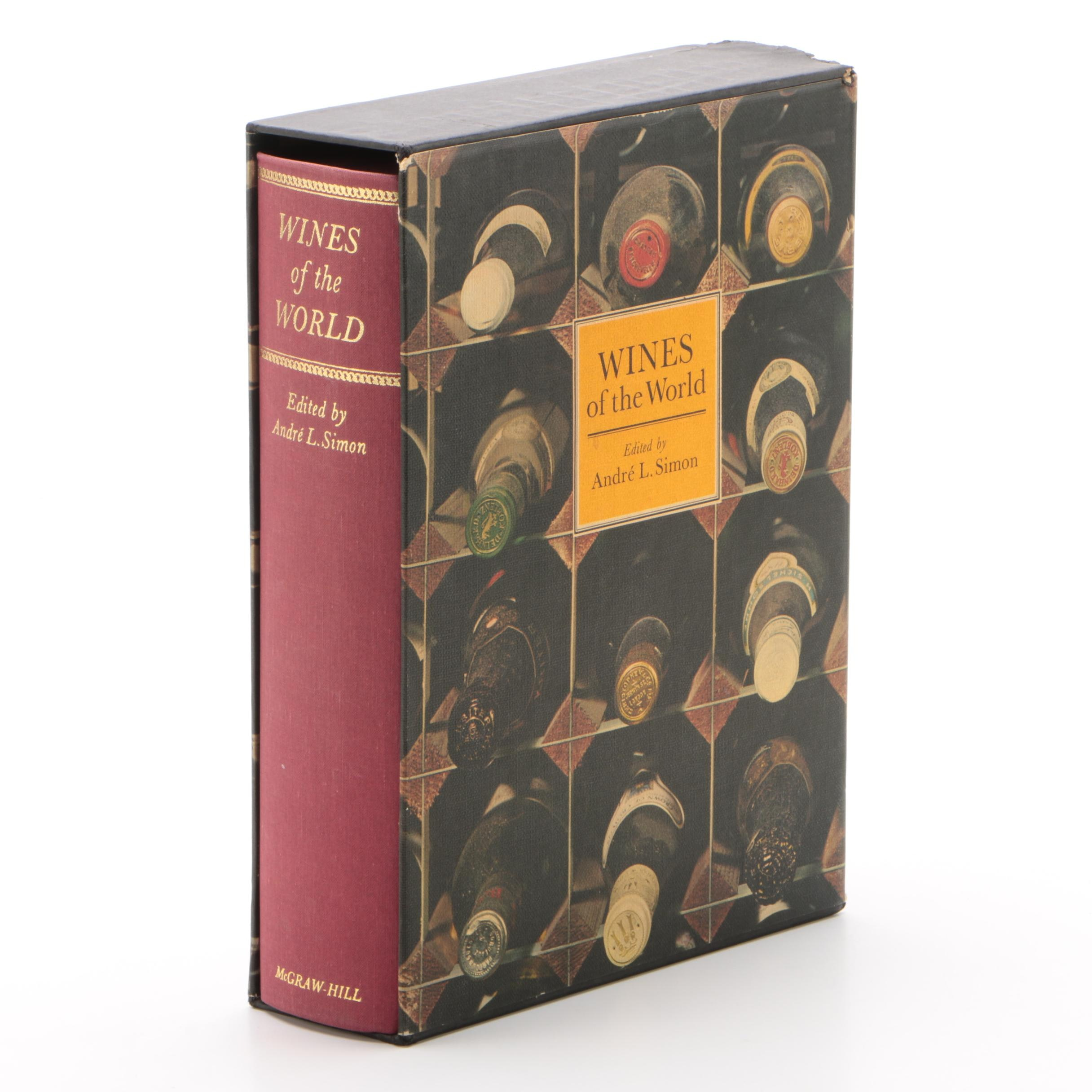 """""""Wines of the World"""" Book with Boxed Cover"""