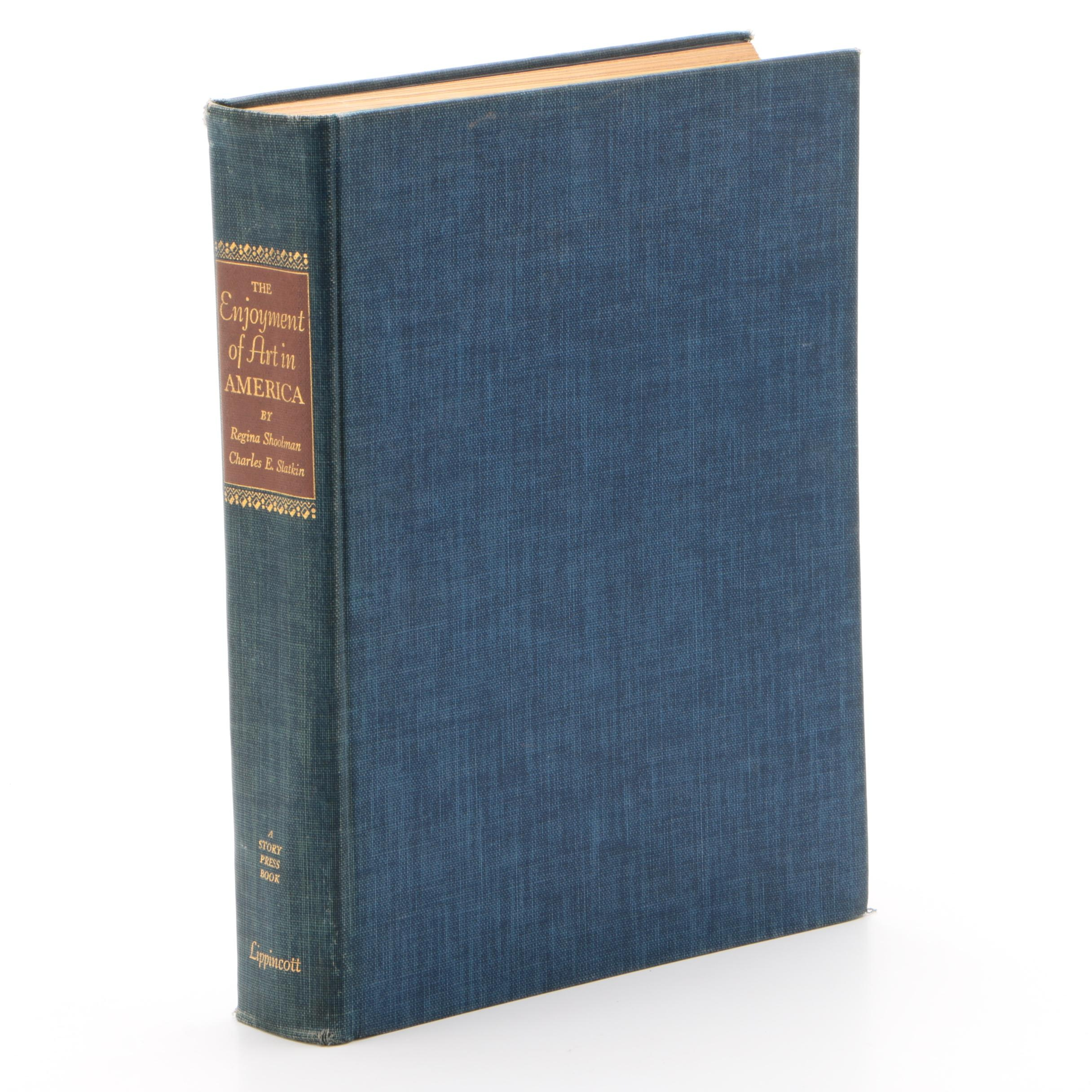 """First Edition Book """"The Enjoyment of Art in America"""""""
