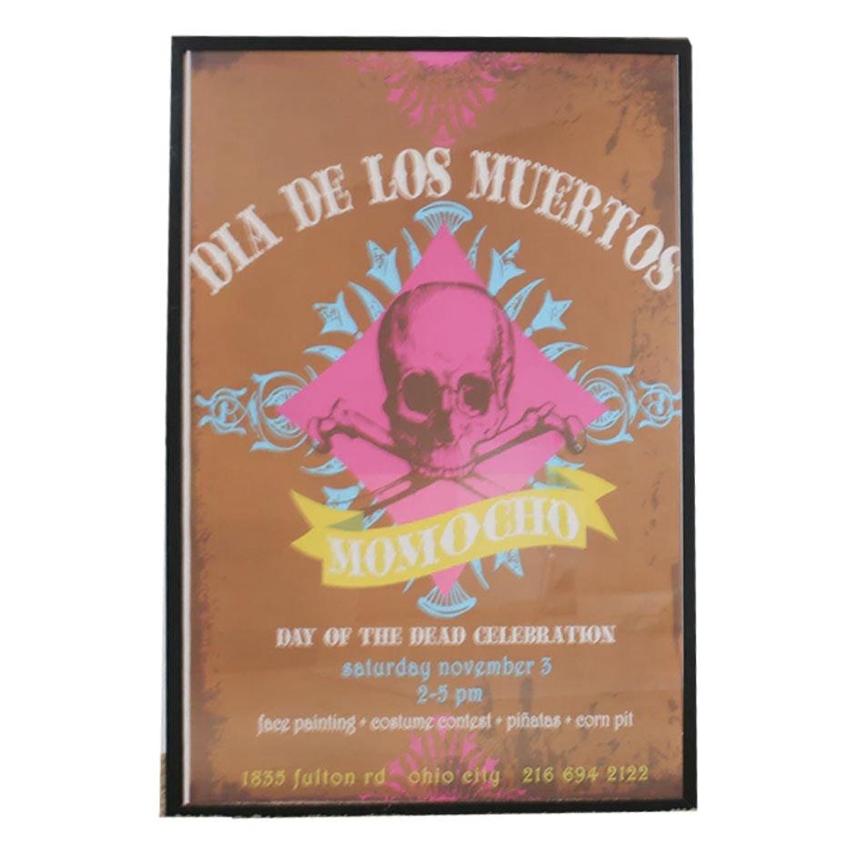 """Serigraph """"Dia De Los Muertos"""""""