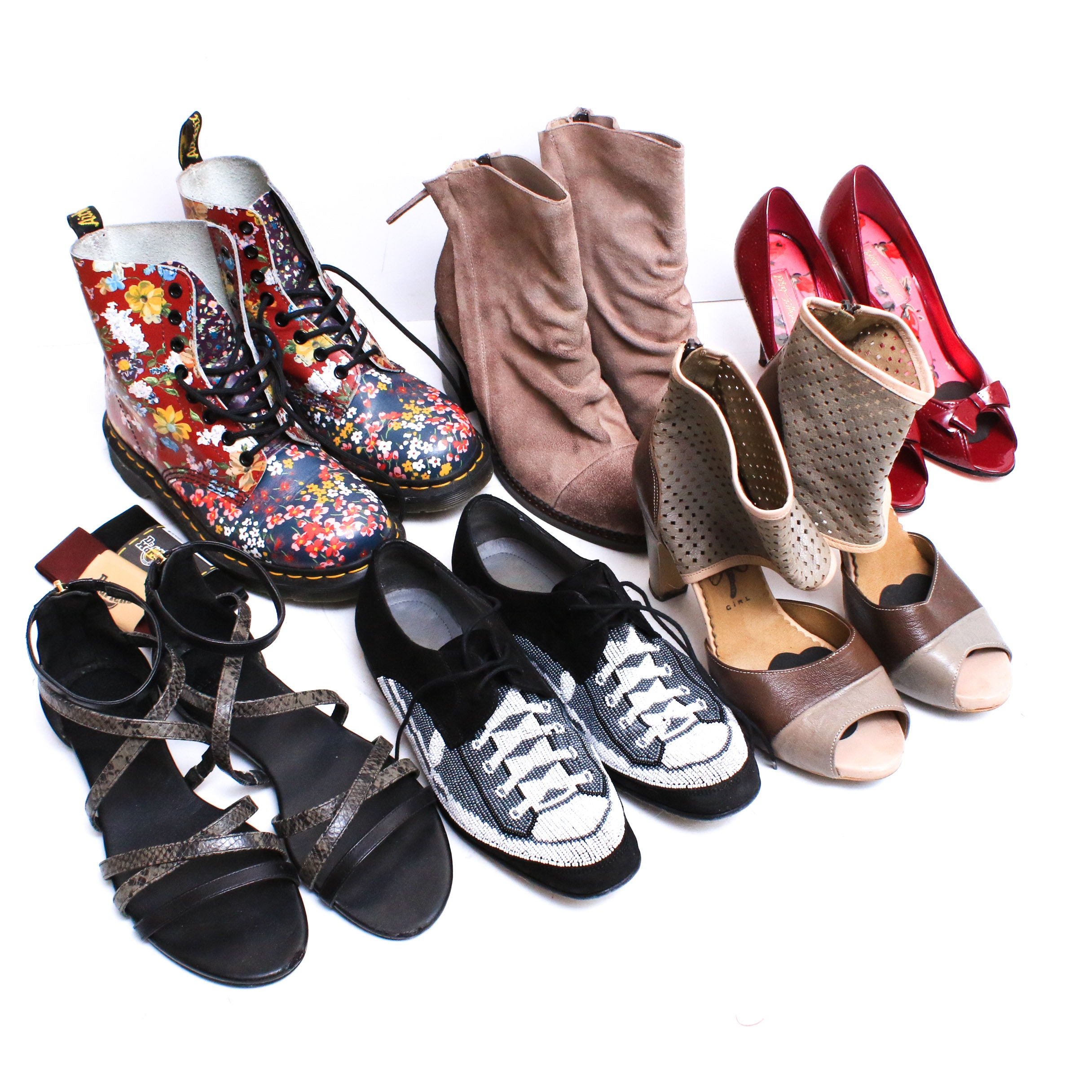 Donald J Pliner, Dr. Martens, Betsey Johnson, Cole Haan and More Shoes and Boots