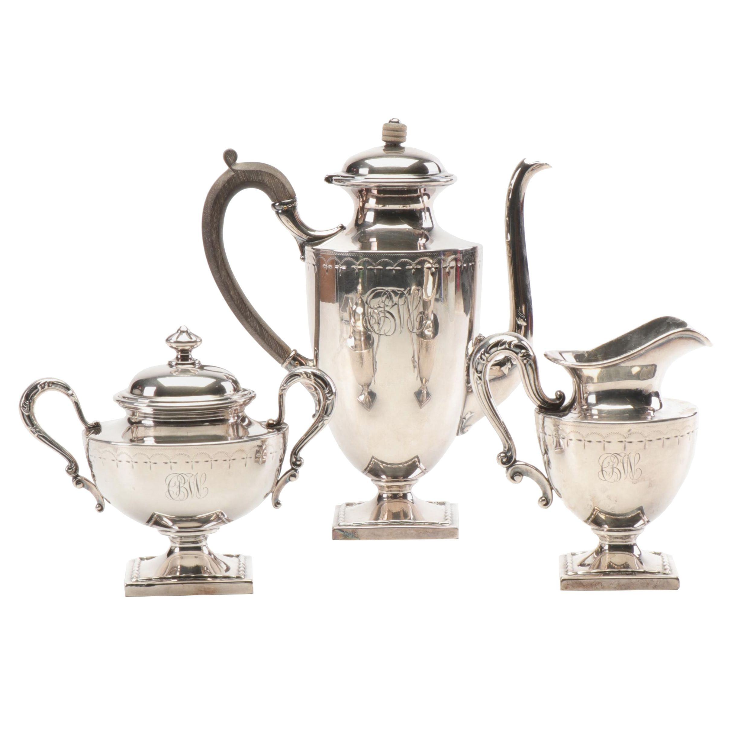 Wilcox Silver Plated Coffee Serving Set