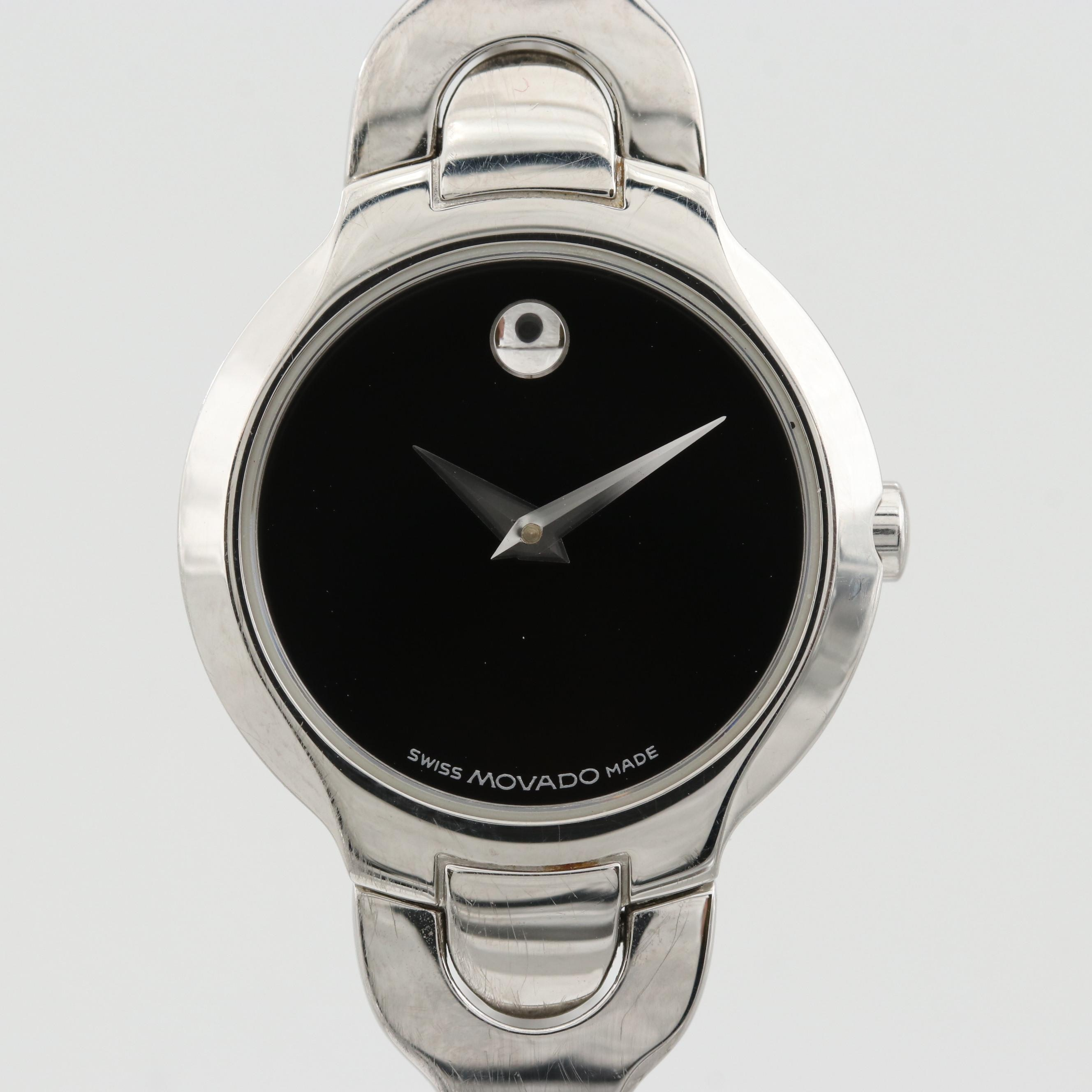Movado Kara Stainless Steel Quartz Wristwatch