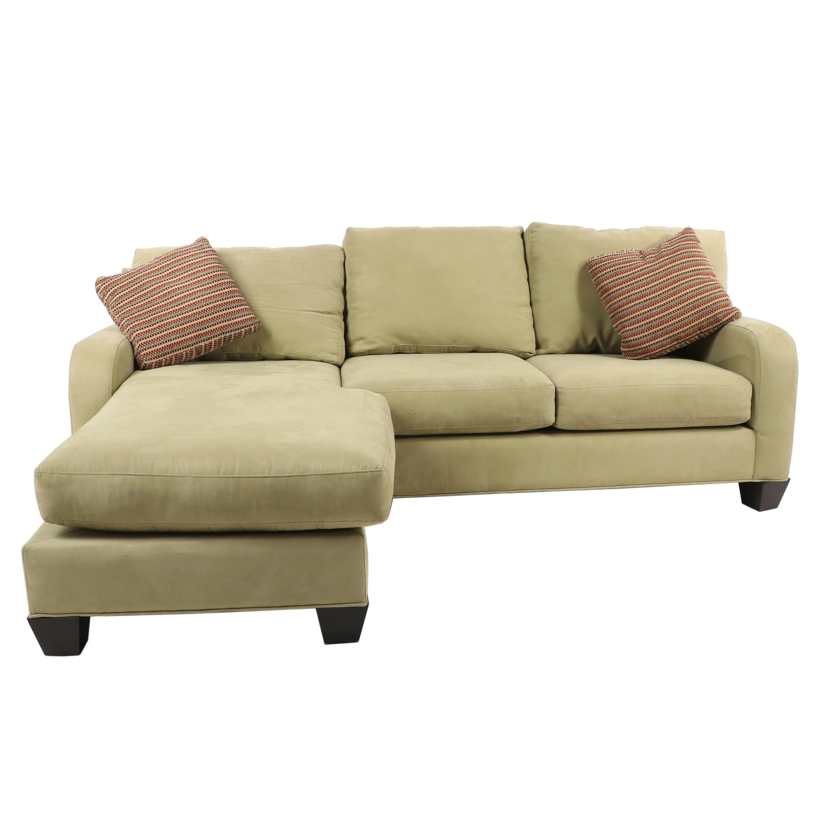 Cindy Crawford Home Green Sleeper Sofa