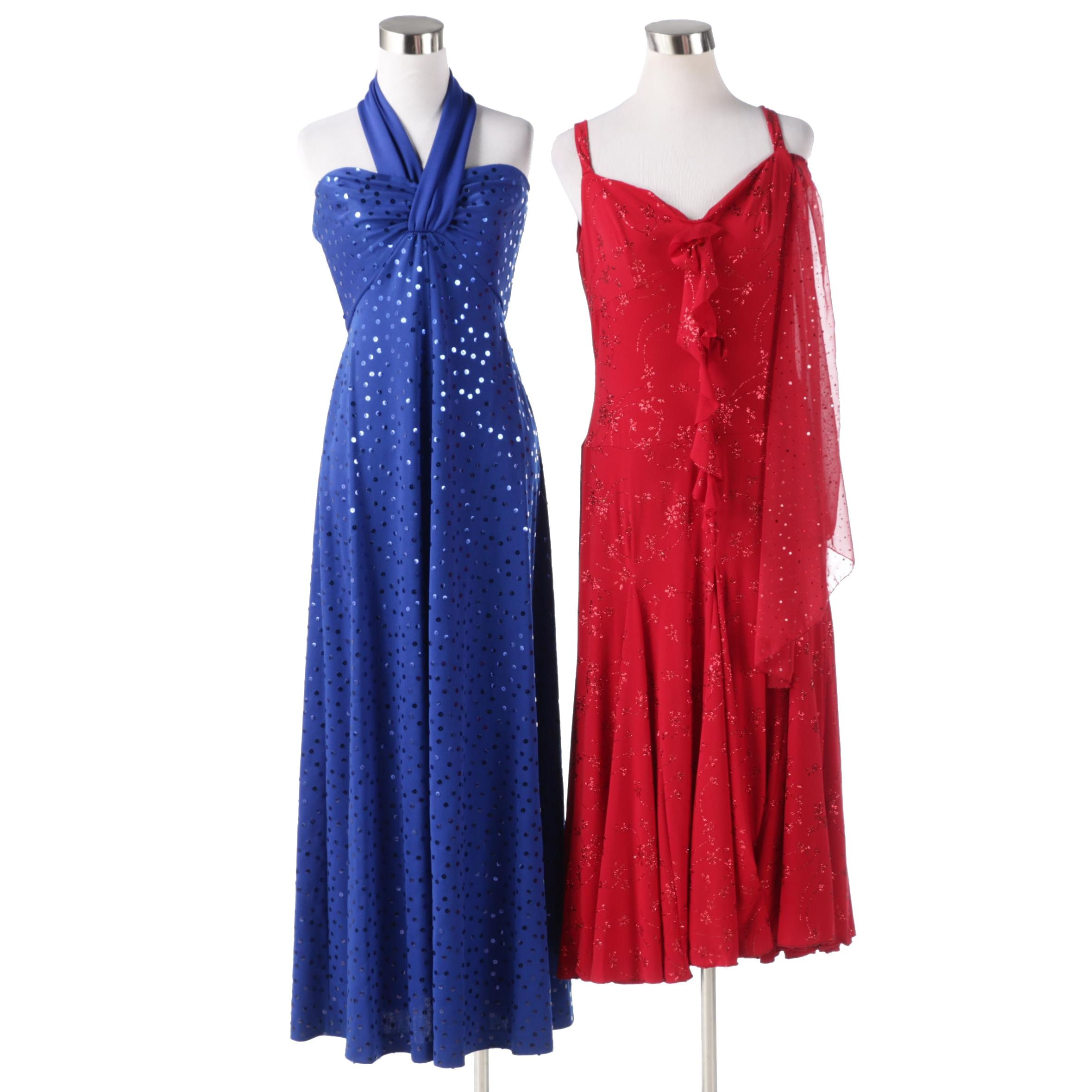 Cocktail and Dancing Evening Dresses with Embellishments