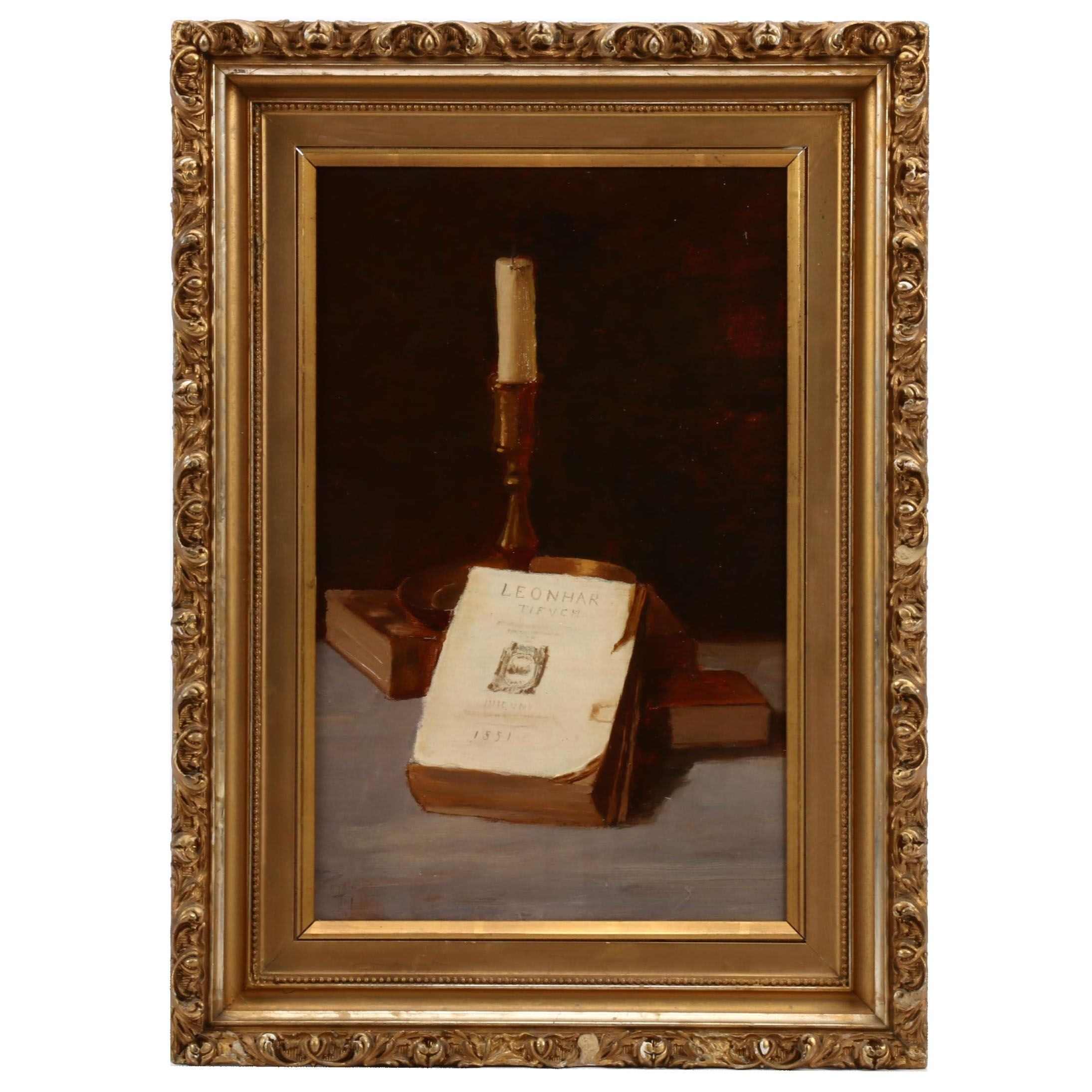 Early 20th Century Still Life Oil Painting