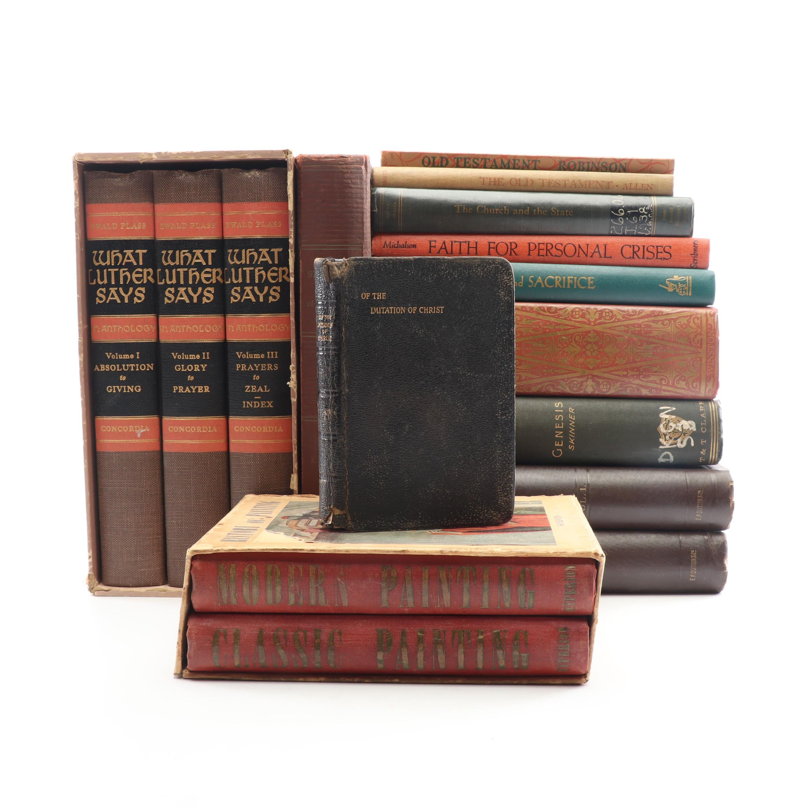Collection of Mid-Century Books on Christianity