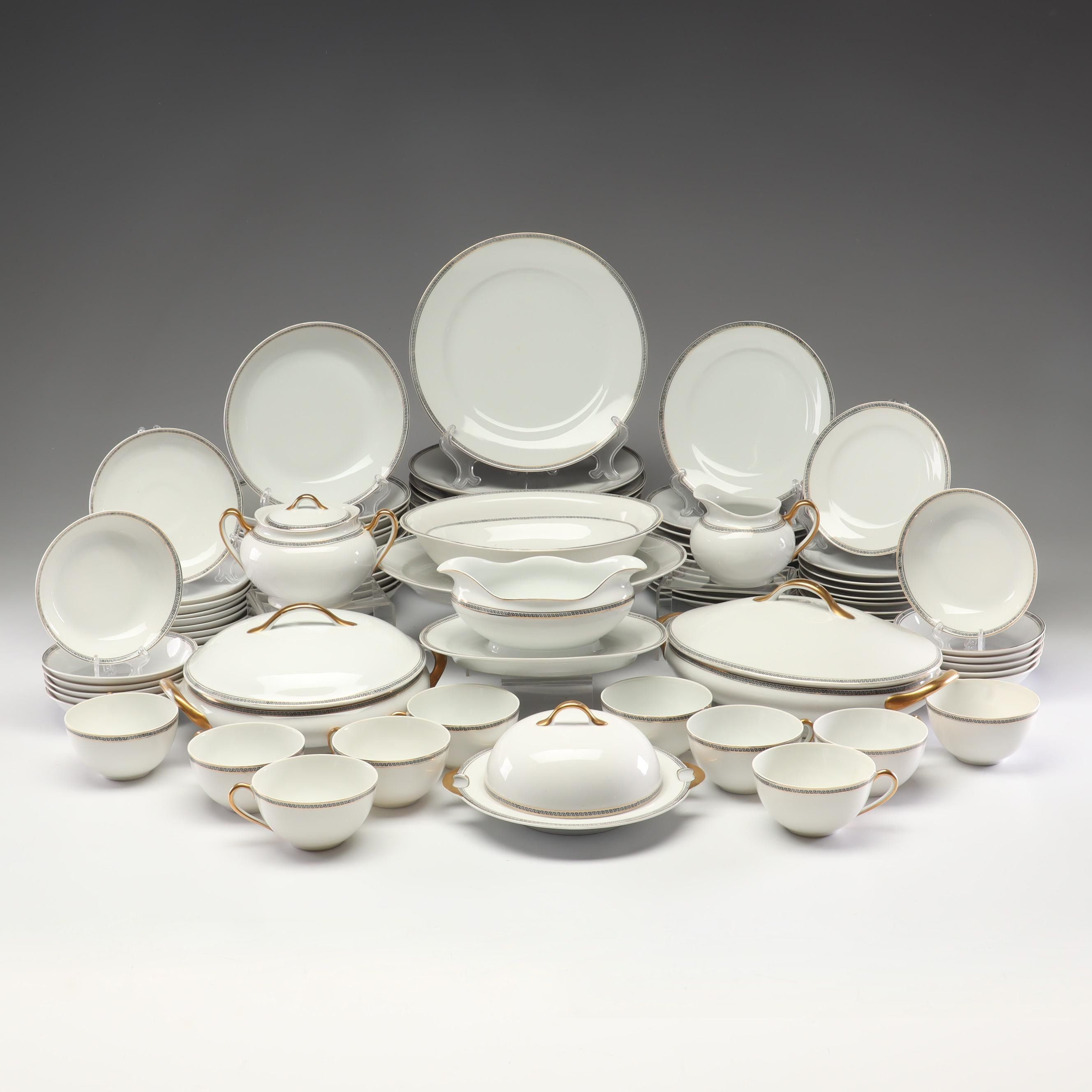 Meito China Gold-Rimmed Dinnerware