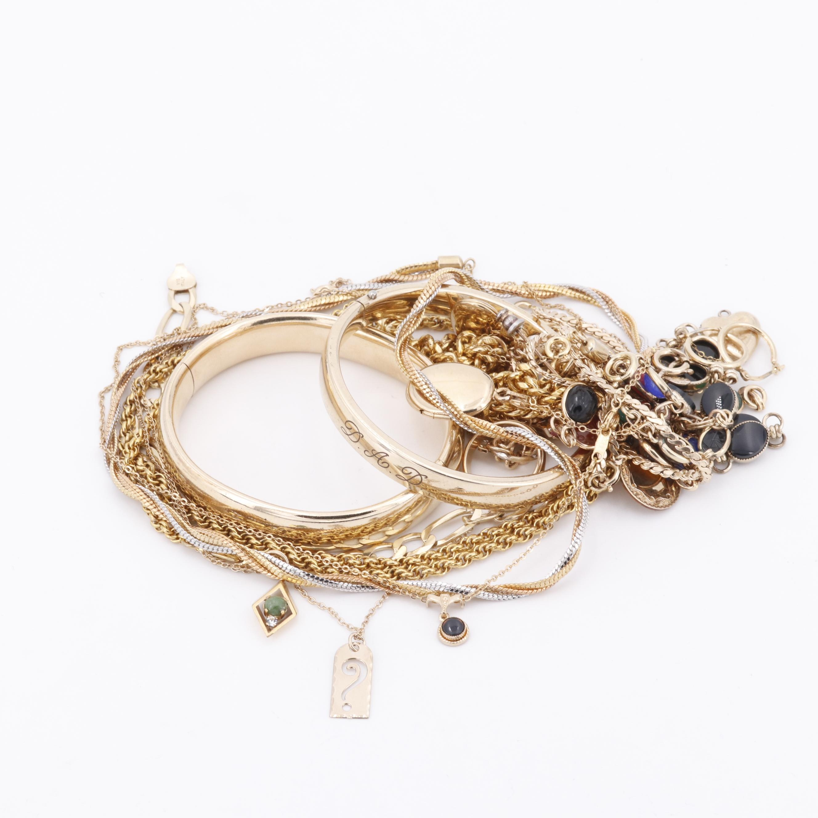 Vintage Gold Filled and Fashion Jewelry