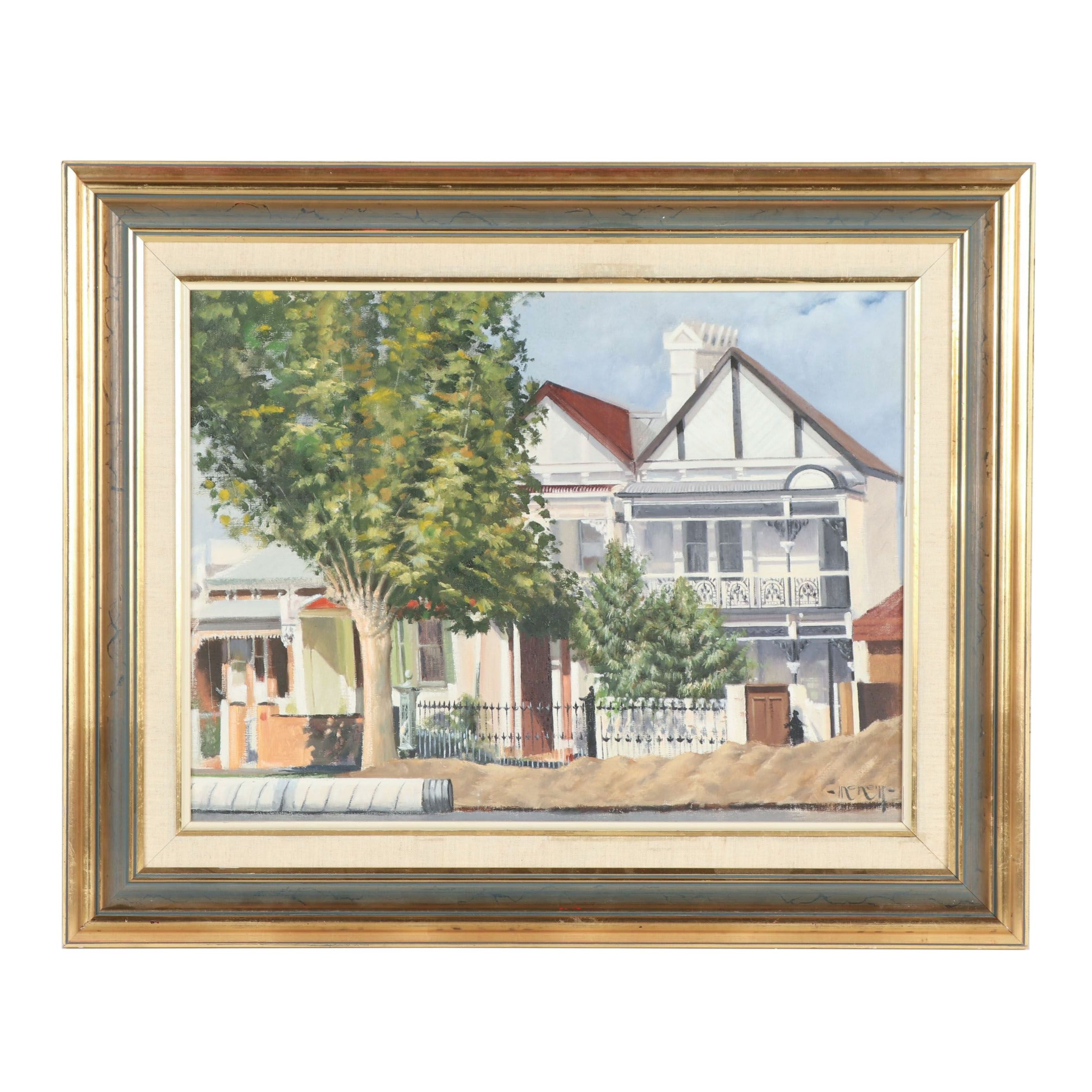McNeill Architectural Oil Painting