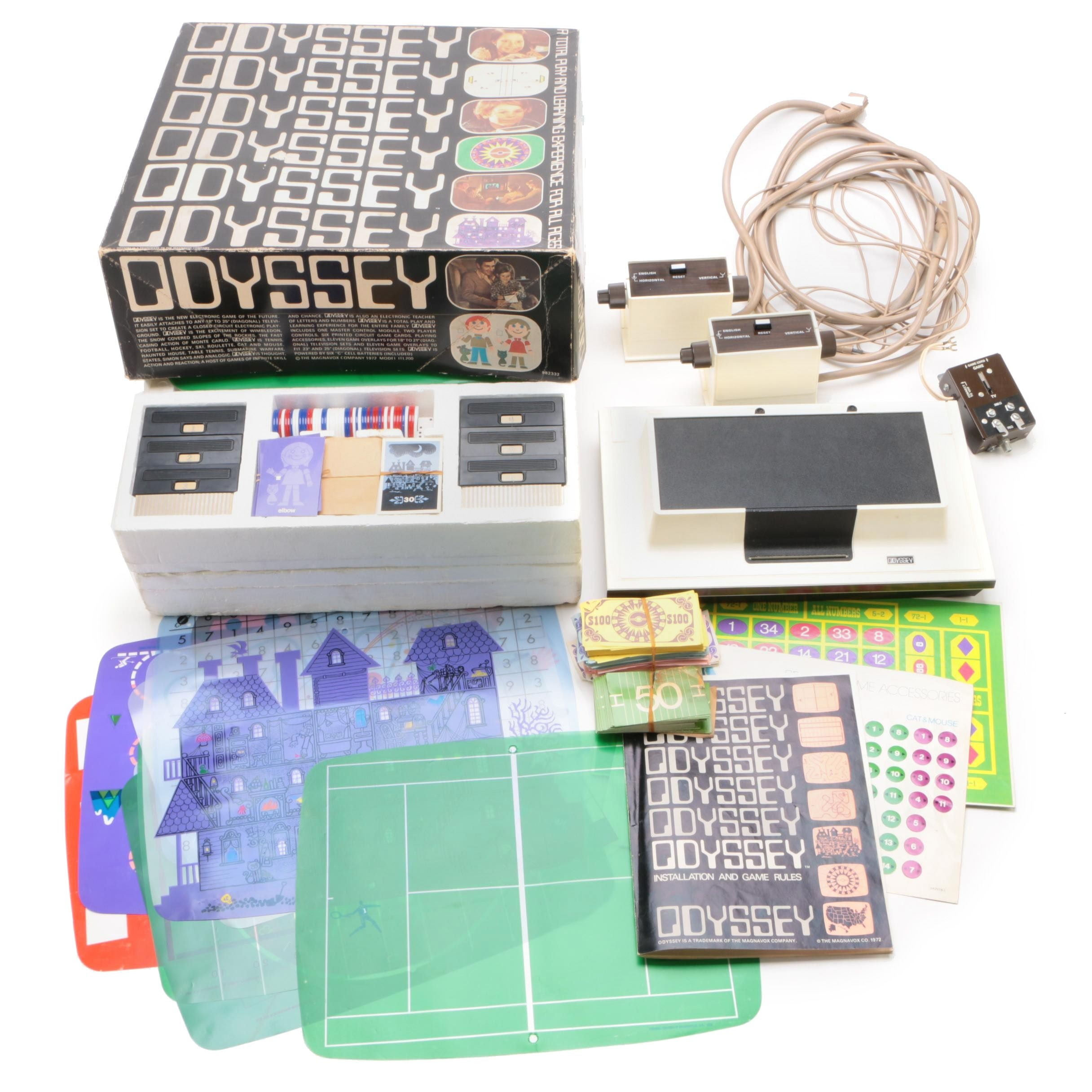 Magnavox Odyssey 1TL200 Game Console, 1972