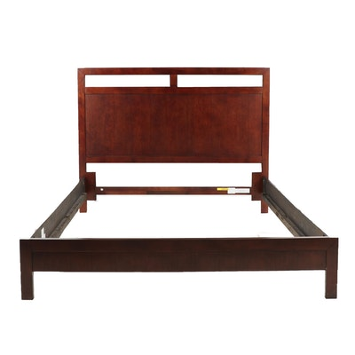 Contemporary Wooden Full Size Bed Frame