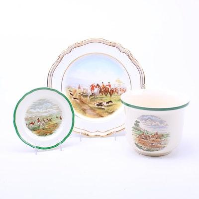 "Spode ""English Hunt Scenes"" Bone China Collection"